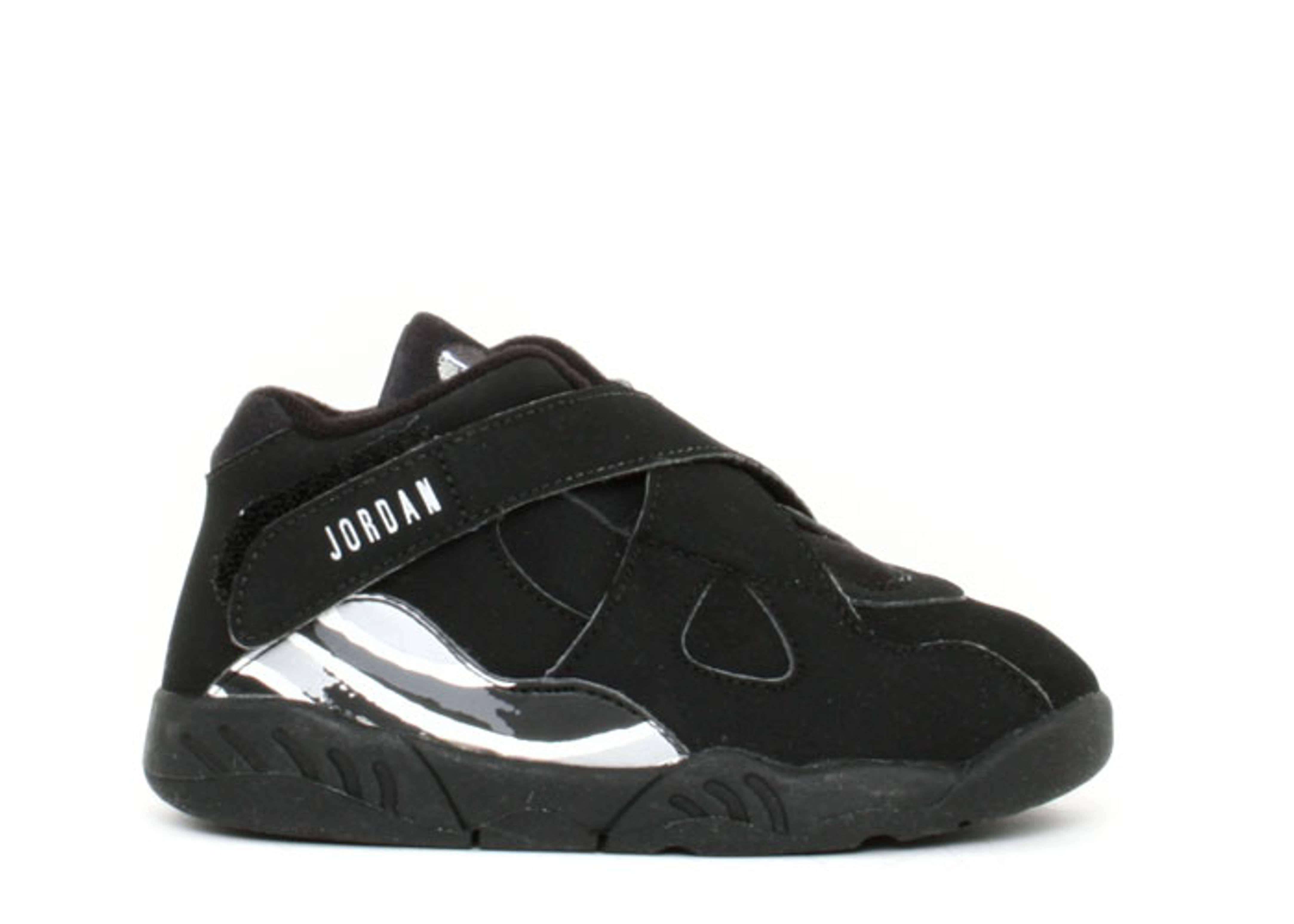 innovative design 6585f d694a Baby Jordan 8 Retro - Air Jordan - 305360 001 - black/chrome ...
