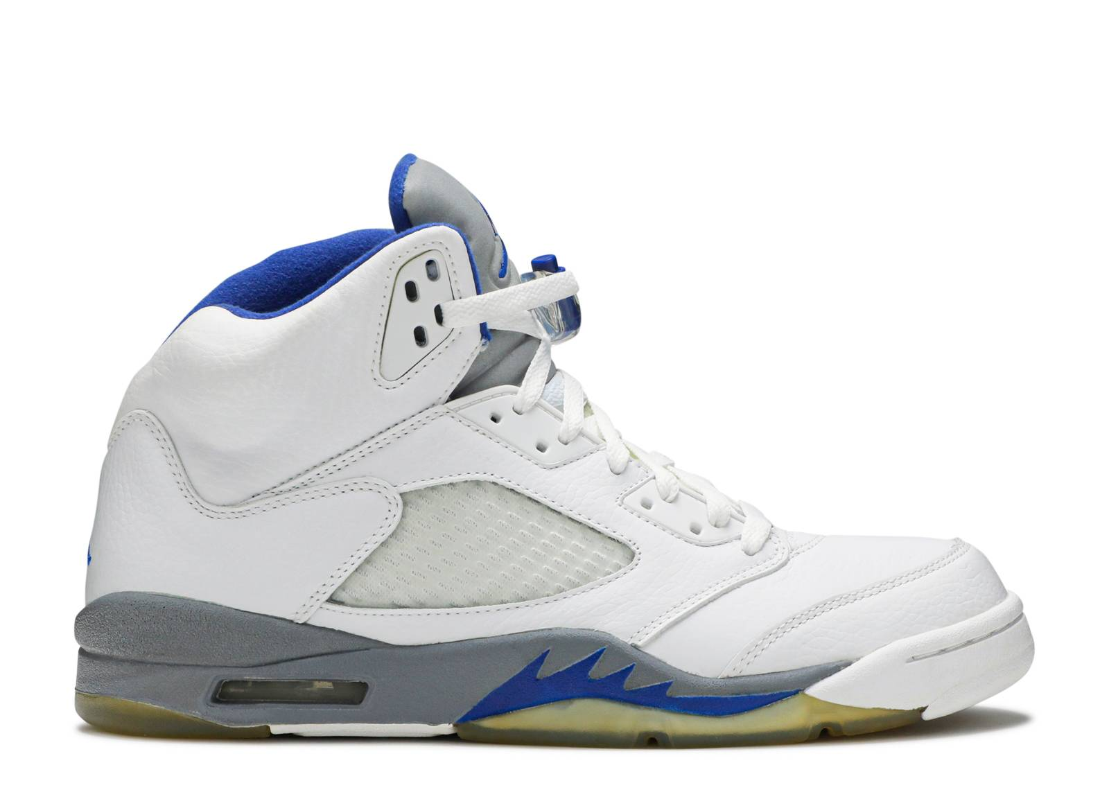 3d6ce28abd70 Air Jordan 5 Retro - Air Jordan - 136027 142 - white sport royal ...