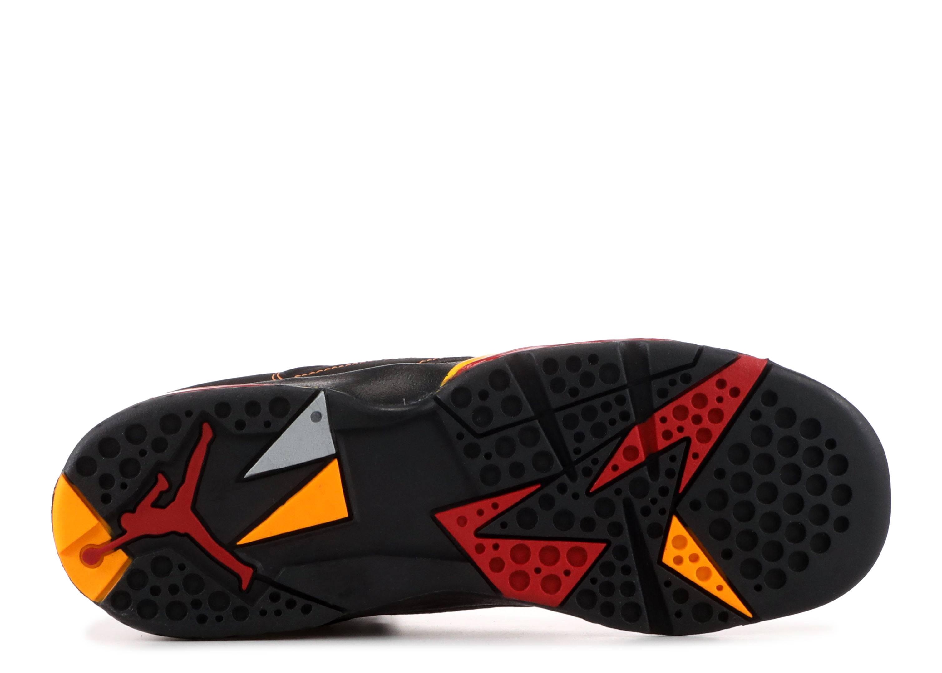 online retailer 217c6 72c9d Air Jordan 7 Retro (gs) - Air Jordan - 304774 081 - black citrus-varsity  red   Flight Club