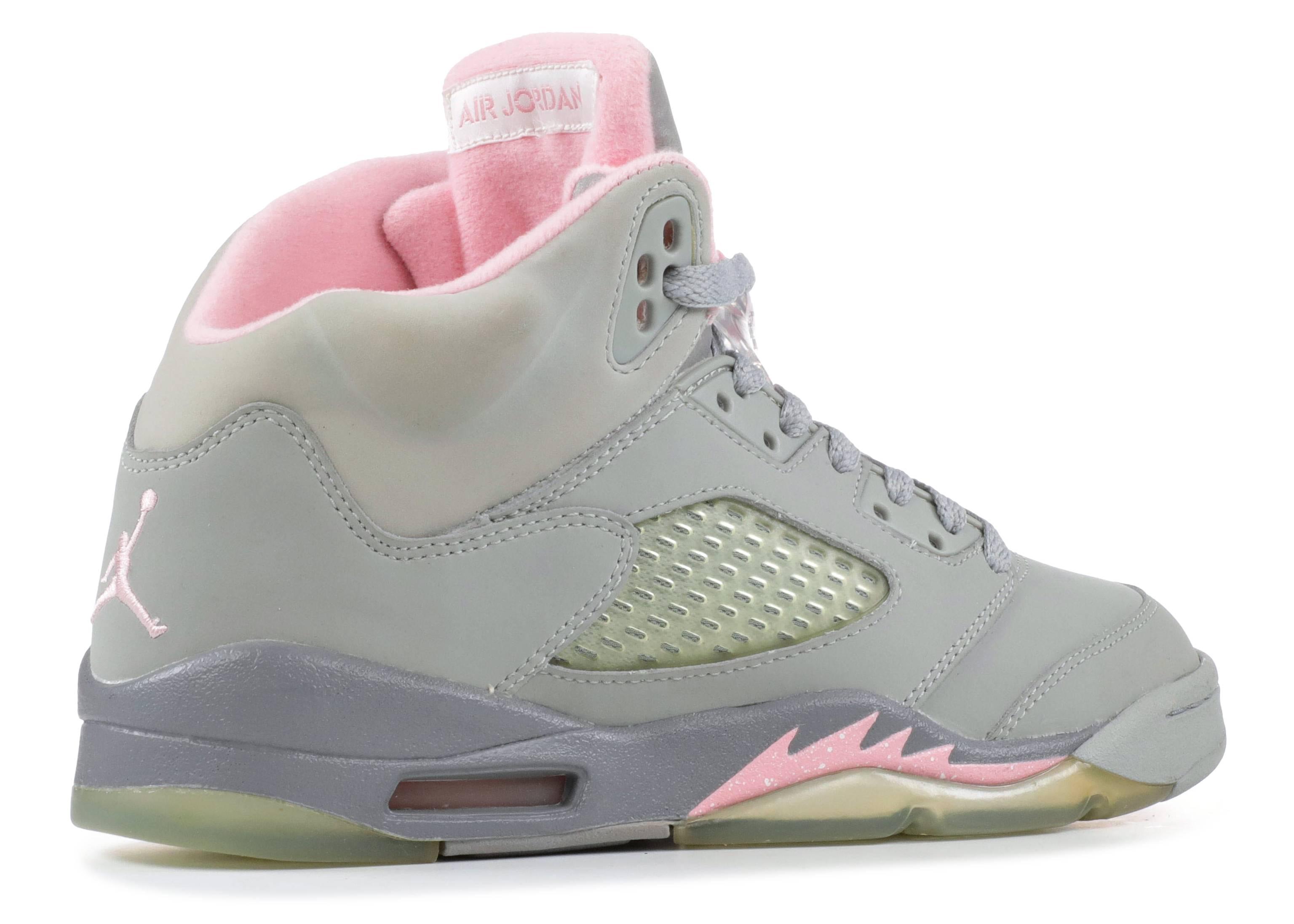 e0756f70ef8 Air Jordan 5 Retro (gs) - Air Jordan - 134092 061 - silver/shy pink ...