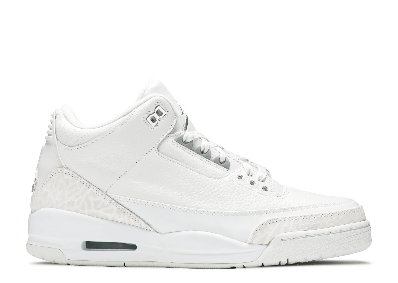 air jordan 3 metallic silver