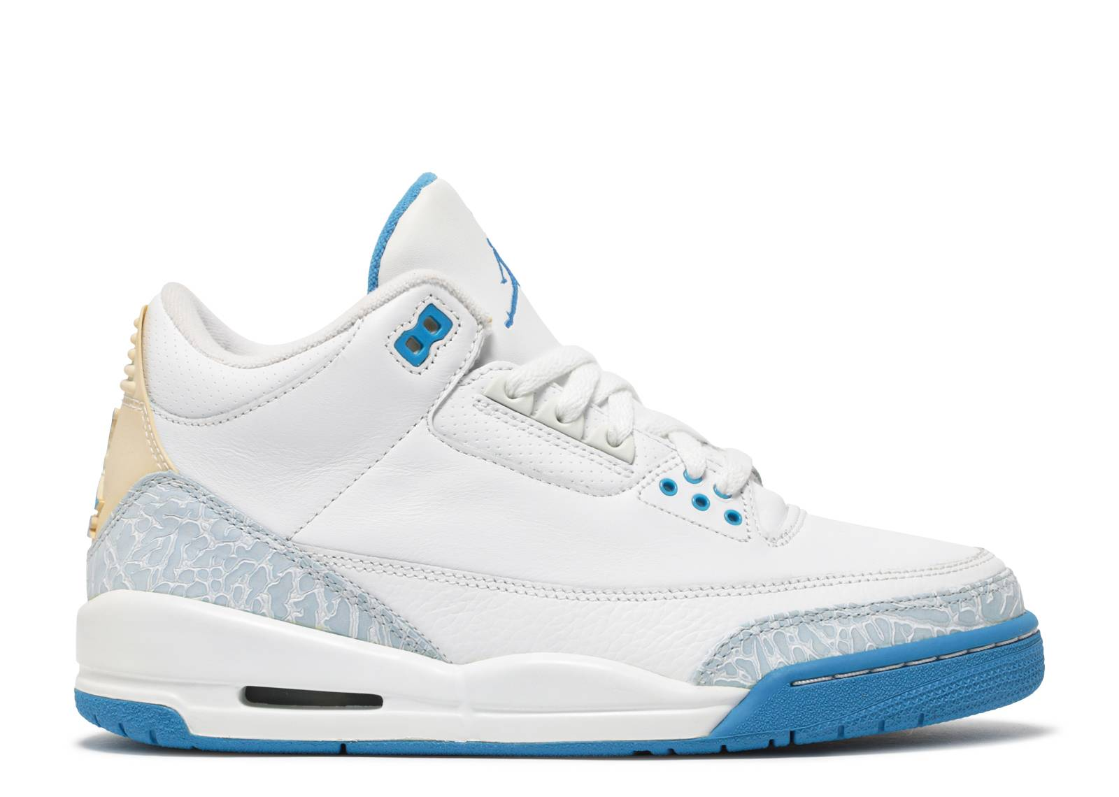 ee6418e6ff3781 Womens Air Jordan 3 Retro - Air Jordan - 315296 142 - white harbor ...