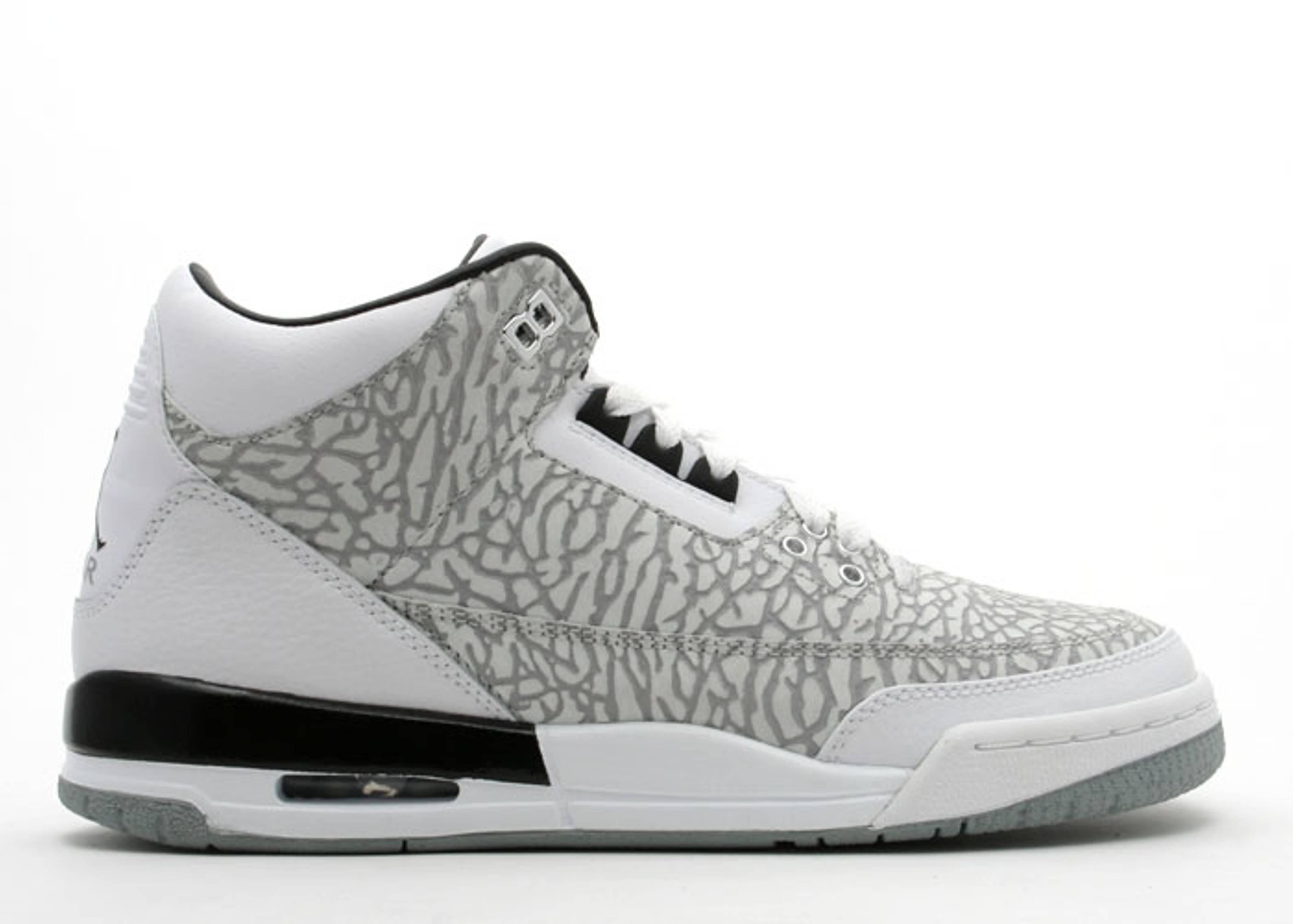 7d4bf352db1ee3 Air Jordan 3 Retro Flip (gs) - Air Jordan - 315768 101 - white ...