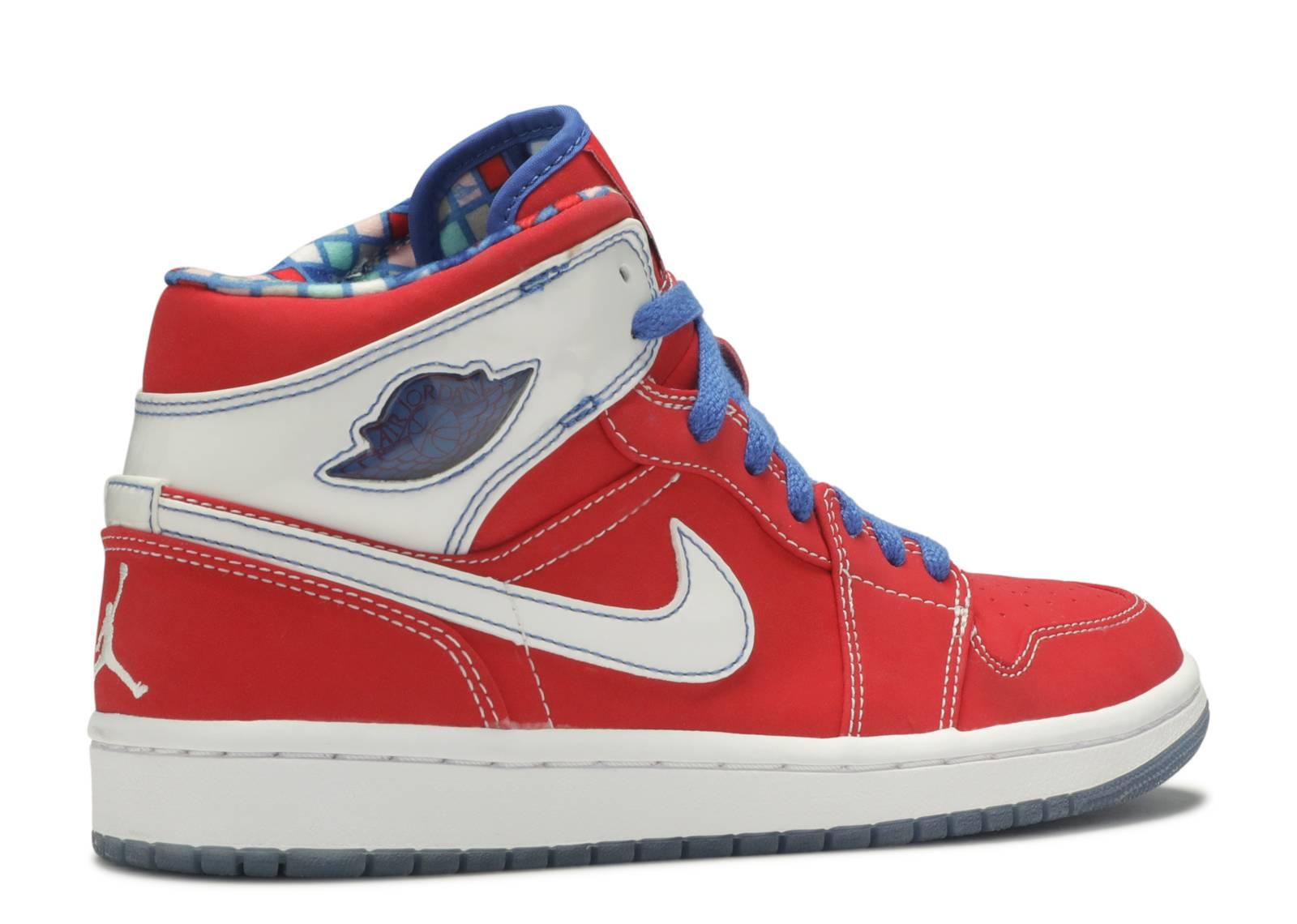 air jordan 1 red and blue