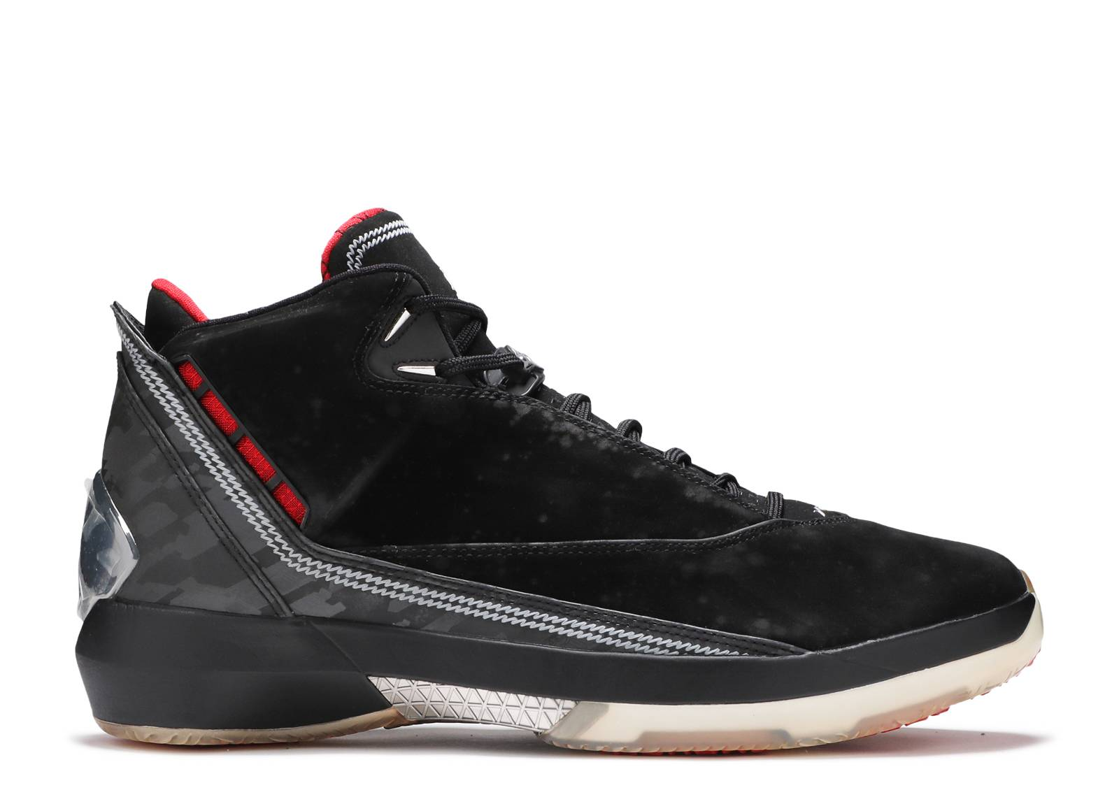 23d093dae3f3d7 Air Jordan 22 - Air Jordan - 315299 001 - black varsity red-metallic ...