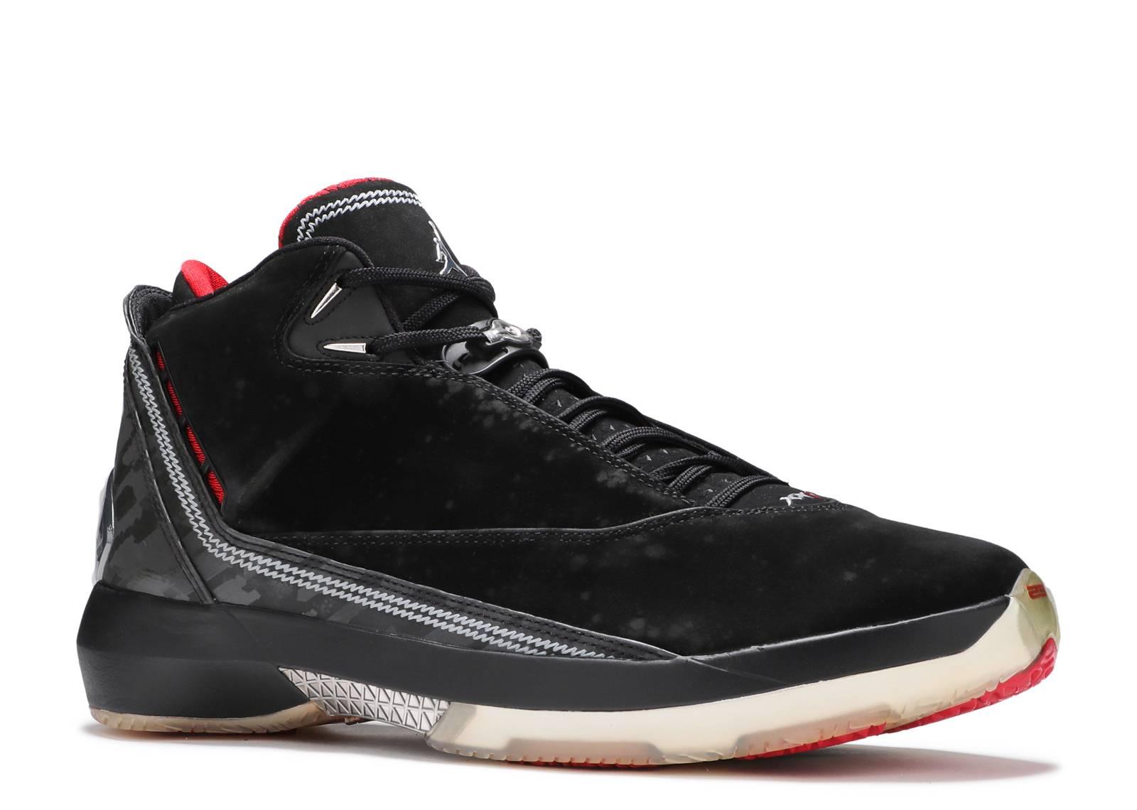 60e5c0231bdfd9 Air Jordan 22 - Air Jordan - 315299 001 - black varsity red-metallic silver