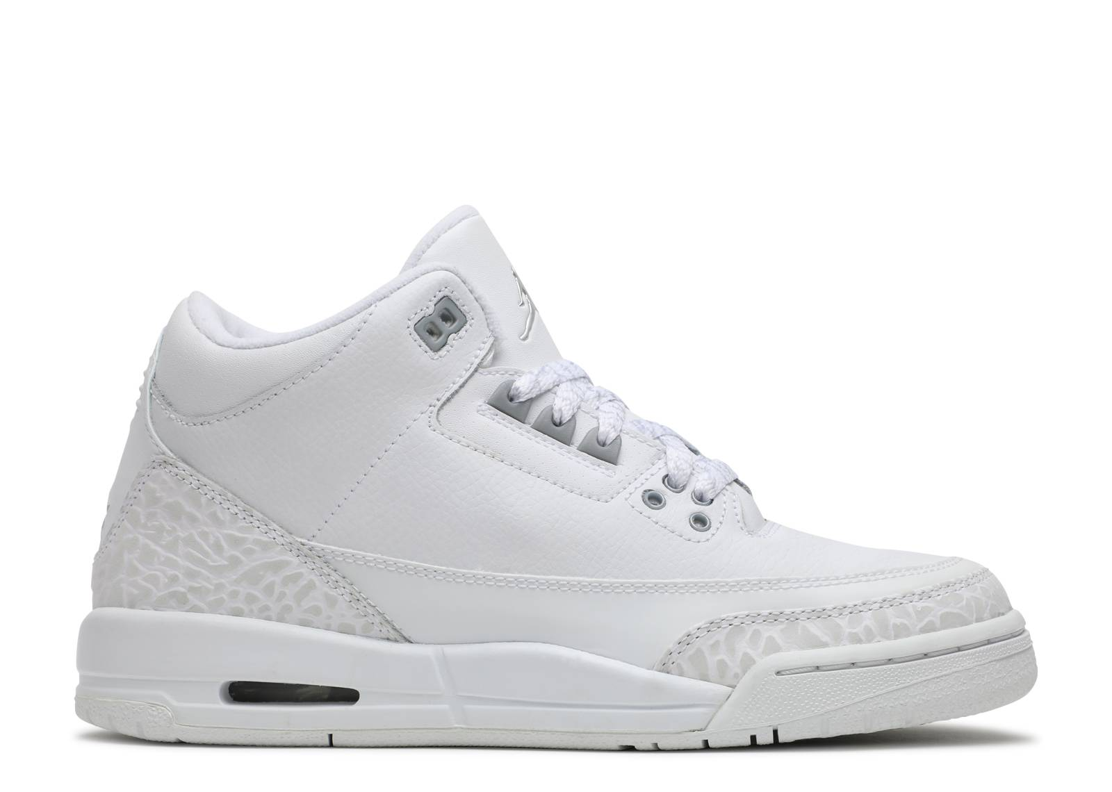 "air jordan 3 retro (gs) ""pure"""