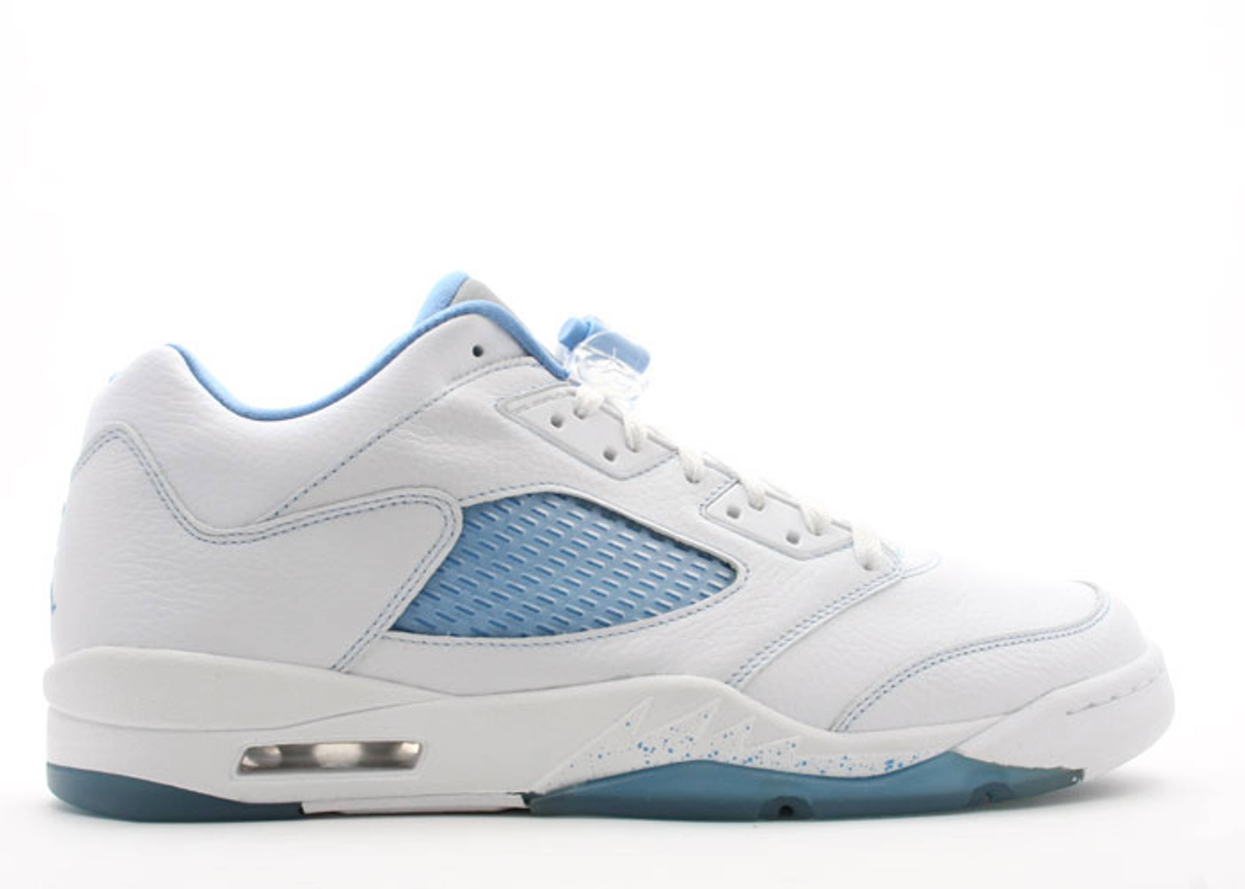 "womens air jordan retro 5 ""UNC"""