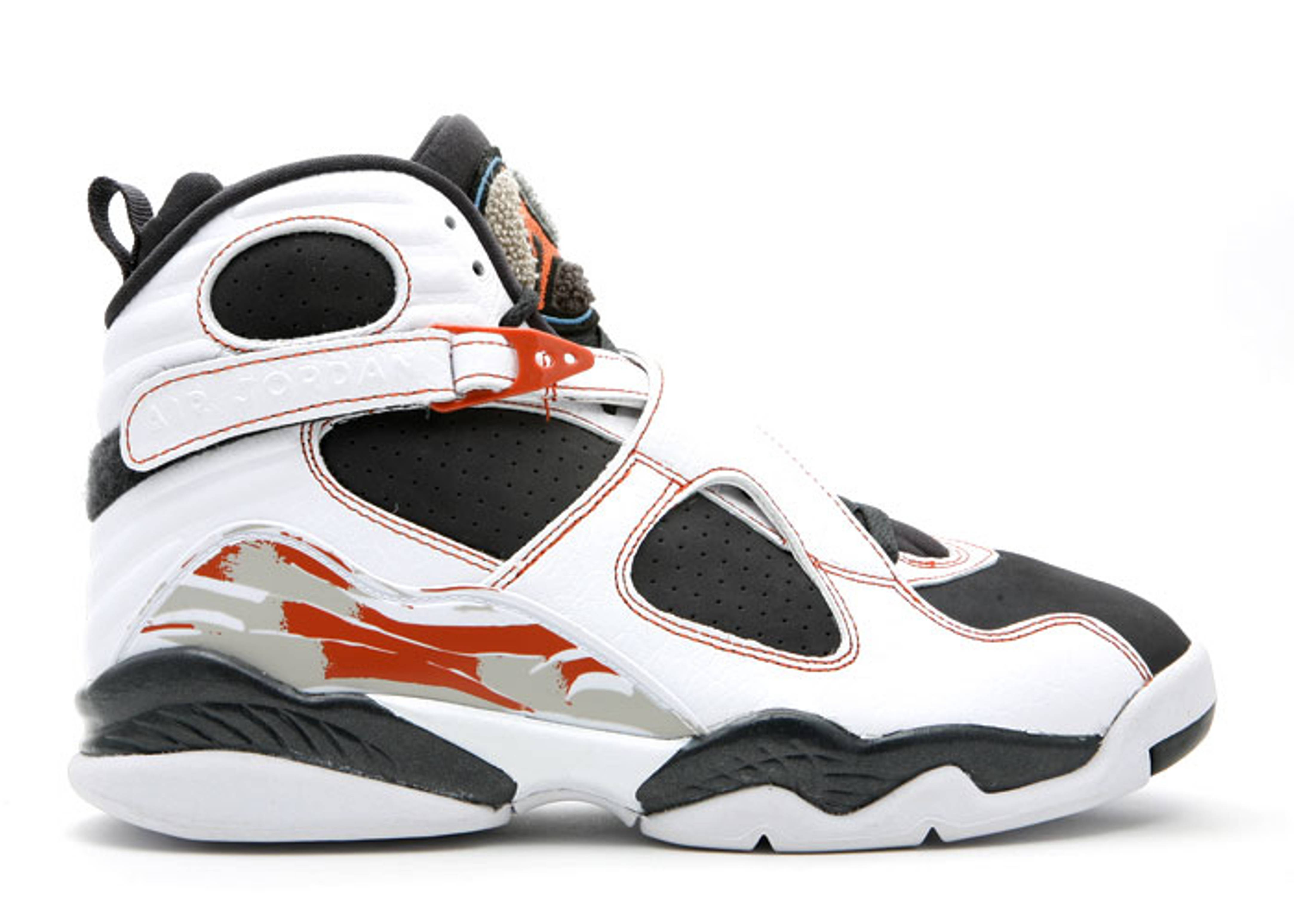 "air jordan 8 retro ls ""Black Toe"""