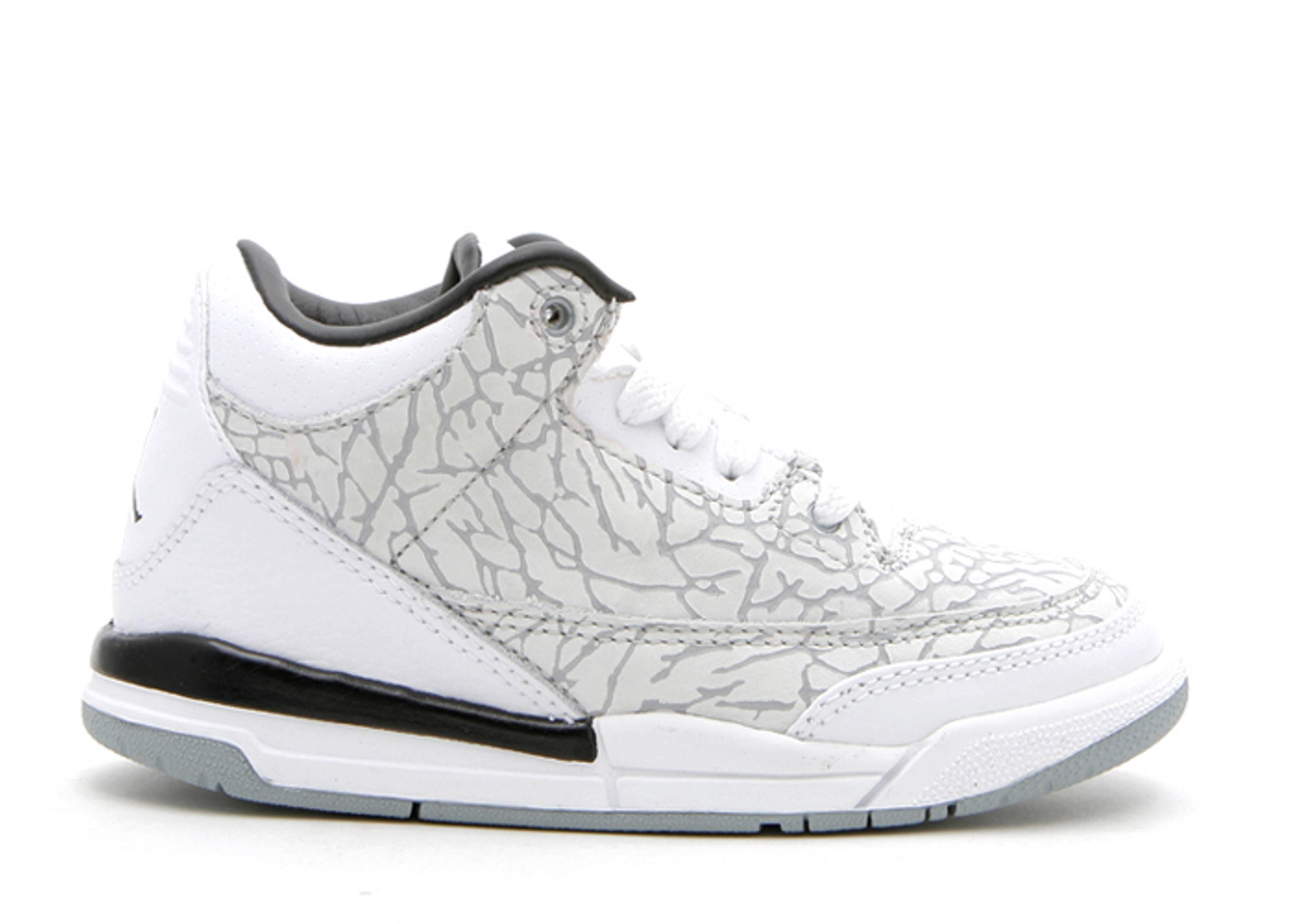 74608dcfda76e5 Jordan 3 Retro Flip (ps) - Air Jordan - 315769 101 - white chrome-varsity  red-black