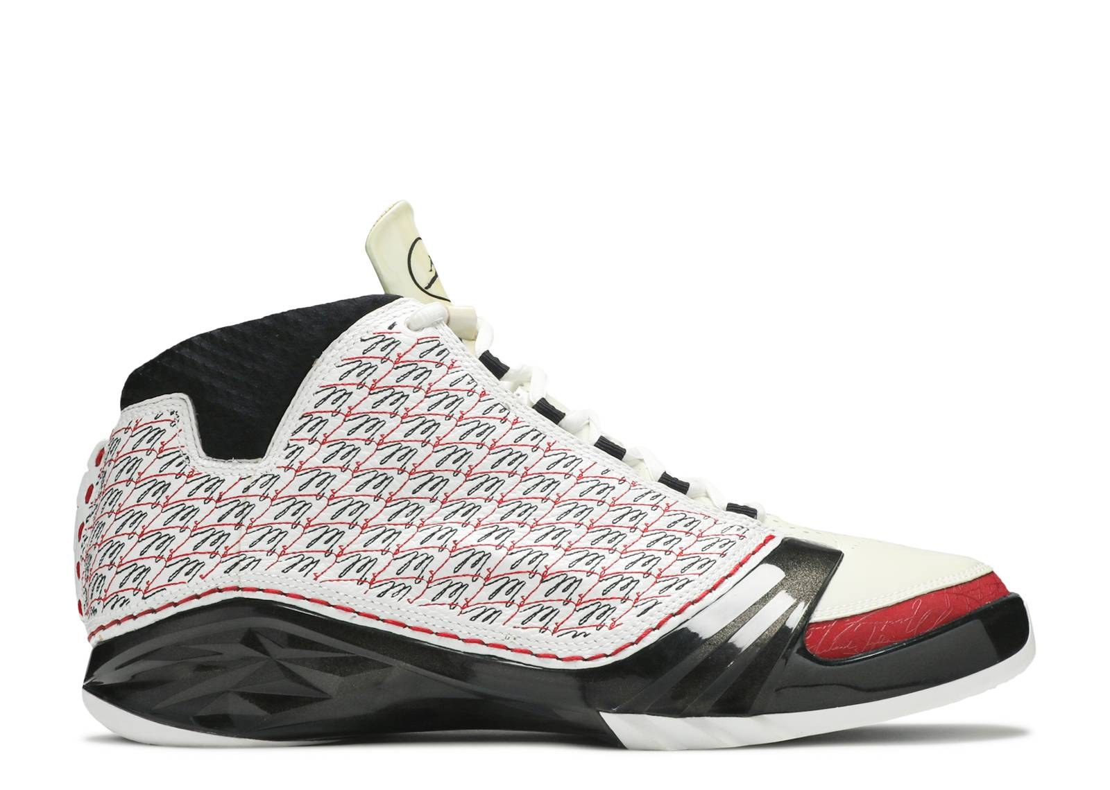 03c8dafb71bc Air Jordan 23 - Air Jordan - 318376 101 - white black-varsity red ...