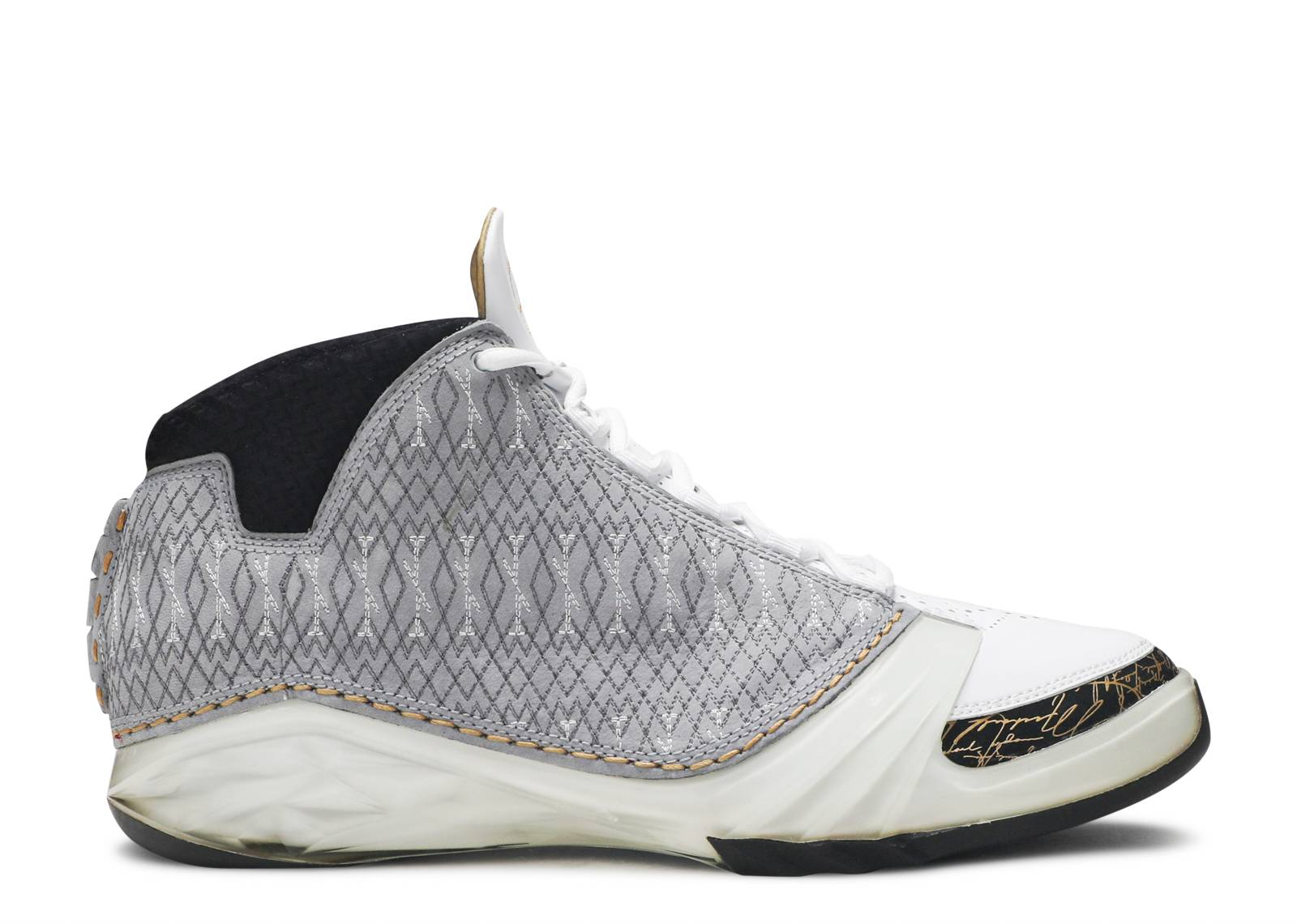 a986fbb40ca Air Jordan 23 - Air Jordan - 318376 102 - white/stealth-black ...