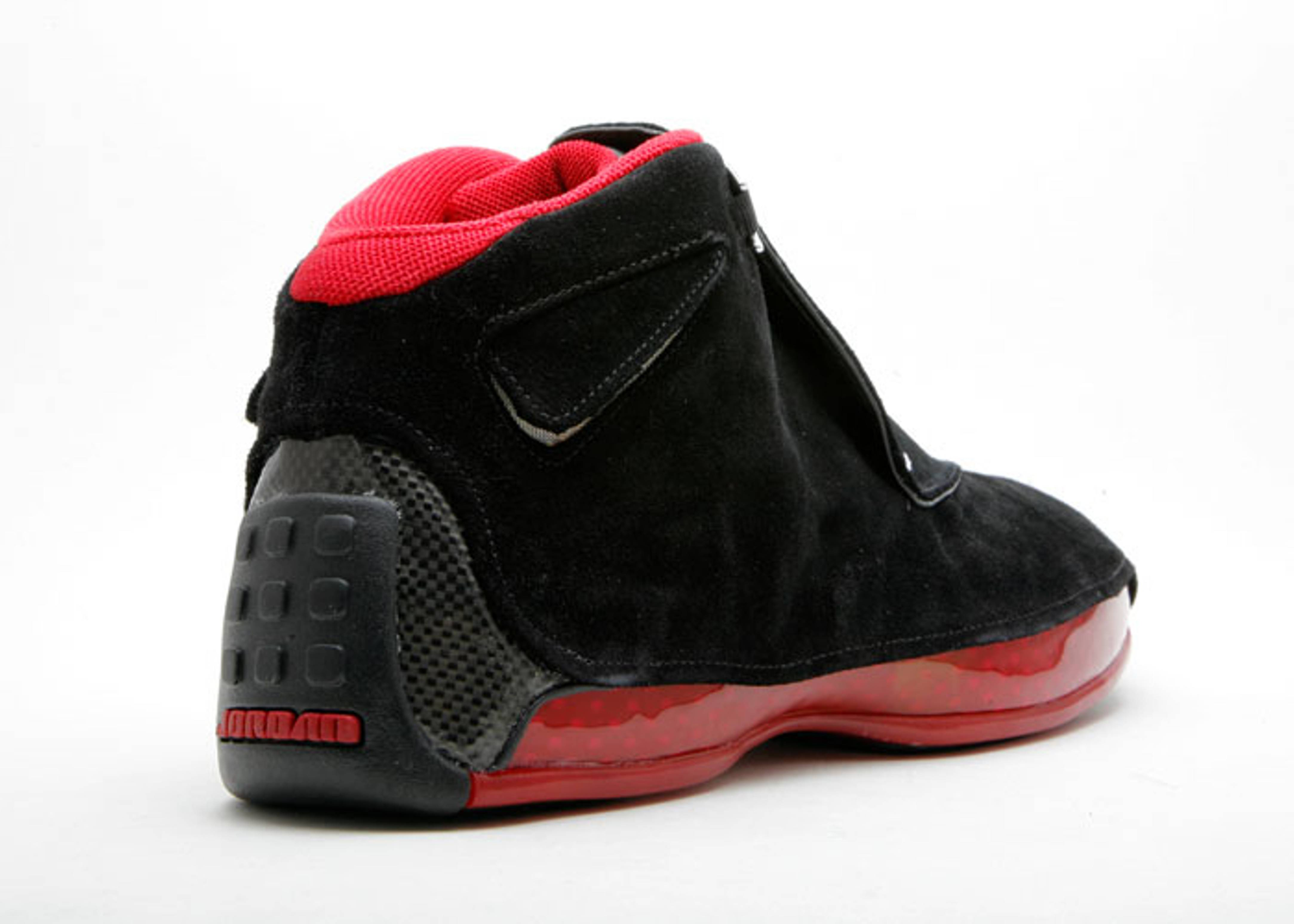 air jordan 18 retro black and red