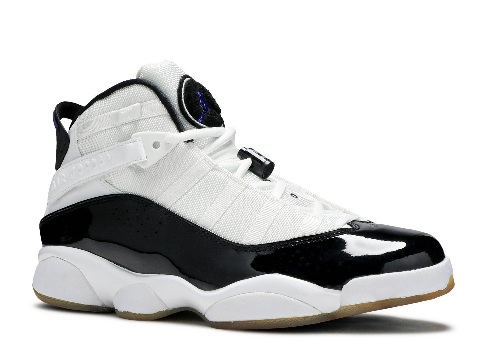 Jordan 6 Rings Quot Concord Quot White Dark Concord Black