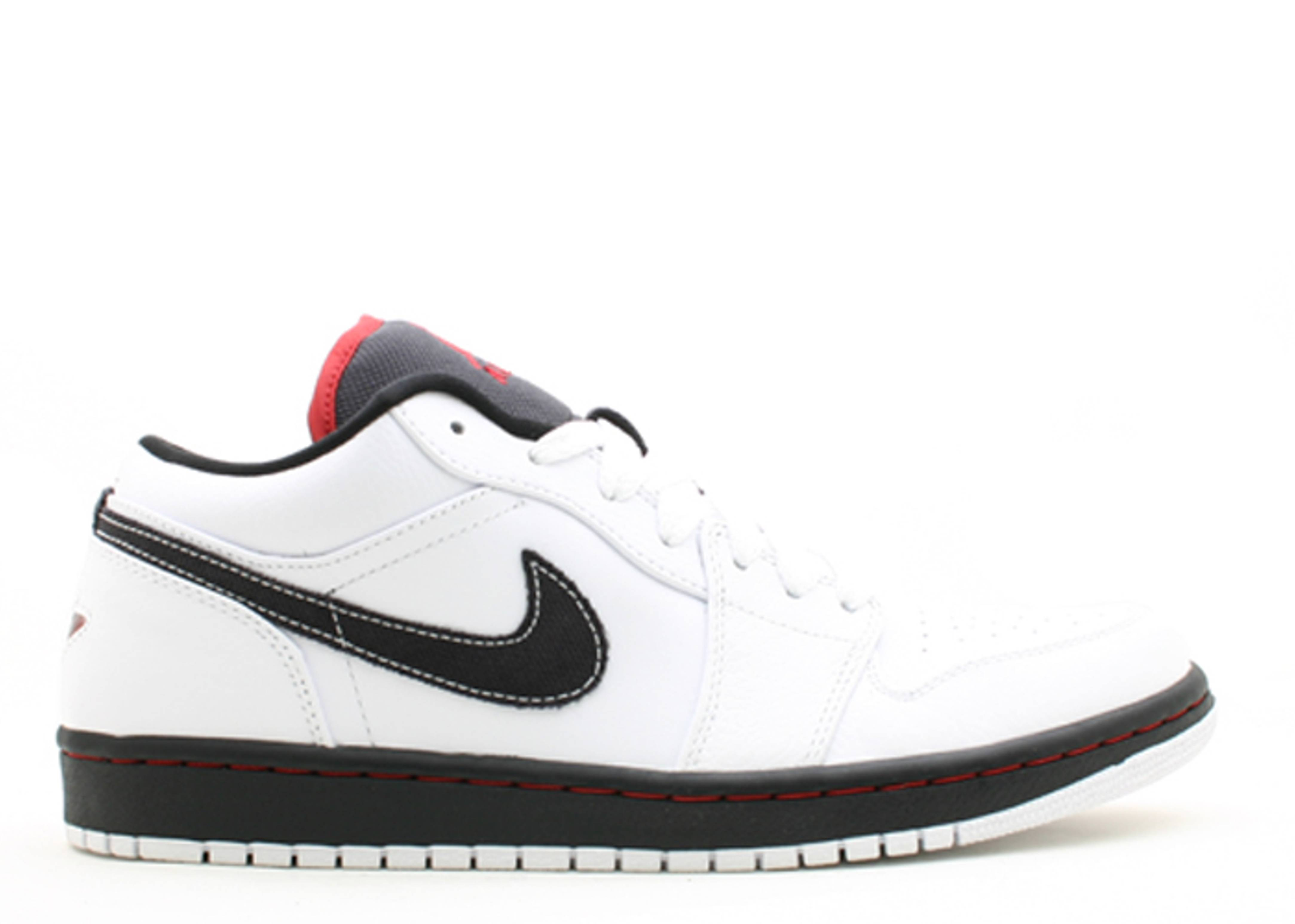Air Jordan 1 Phat Low - Air Jordan - 338145 161 - white varsity red-black  cc589c6e6