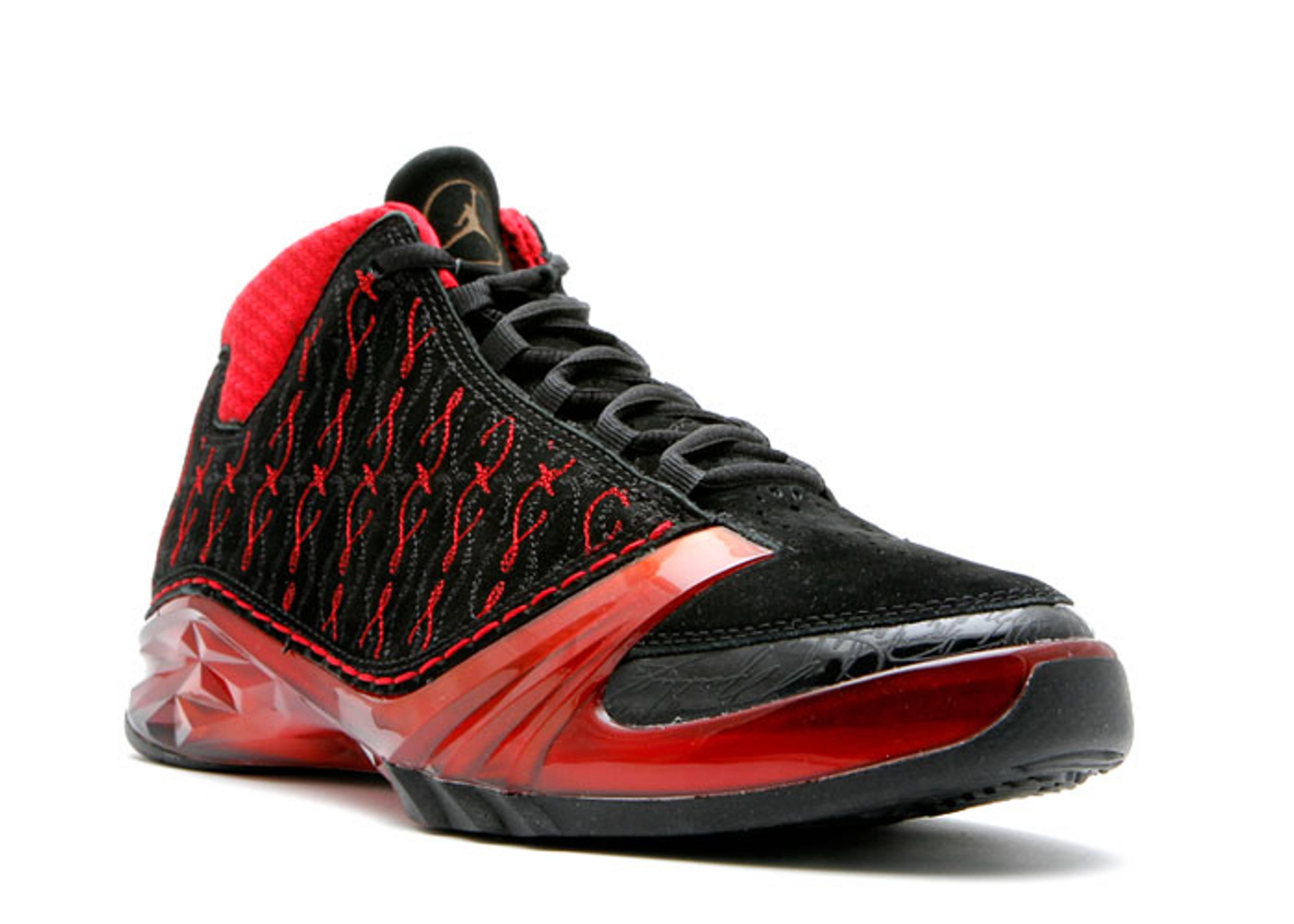 air jordan 23 premier black red