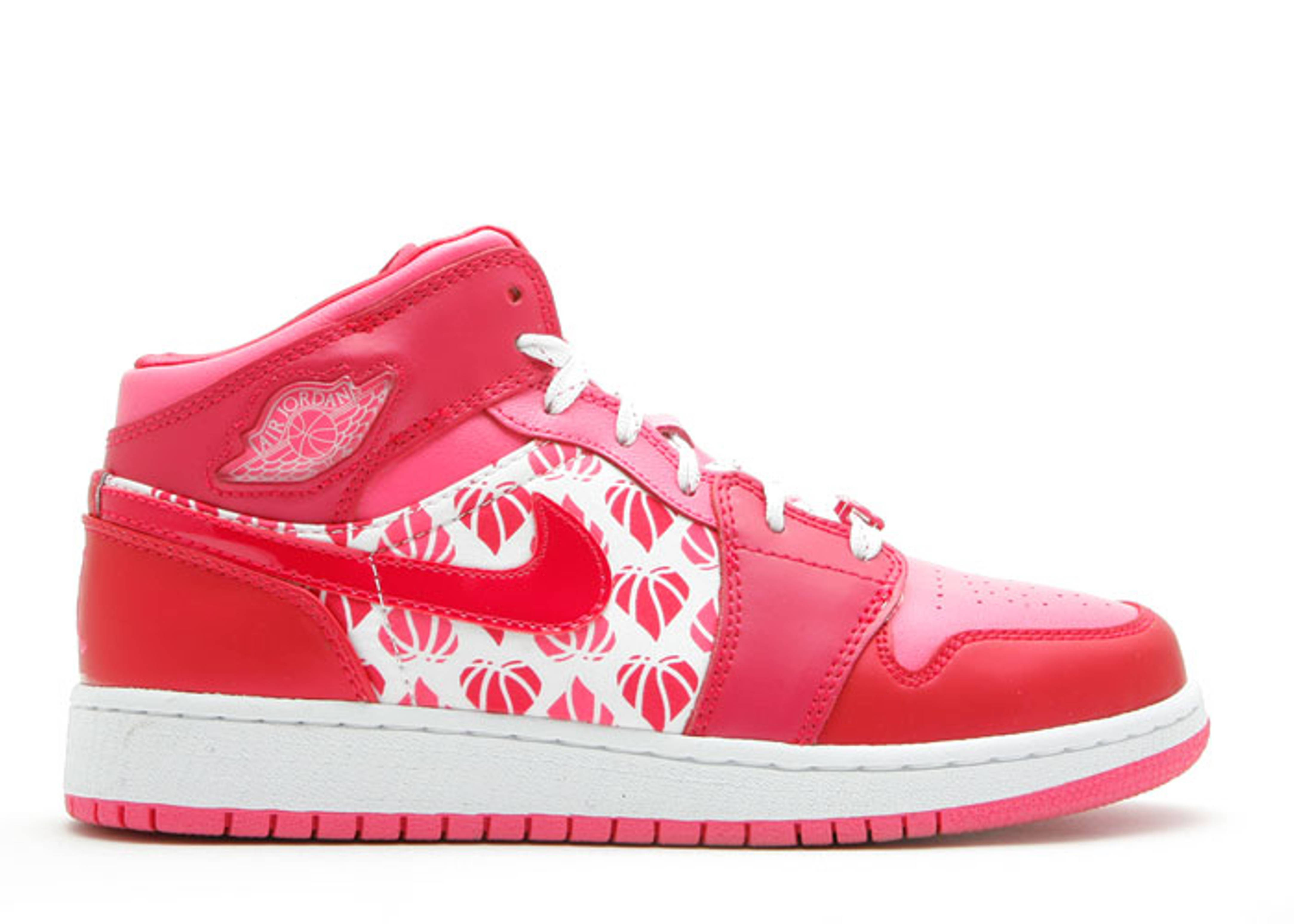 "girls jordan 1 premium (gs) ""valentines day"""