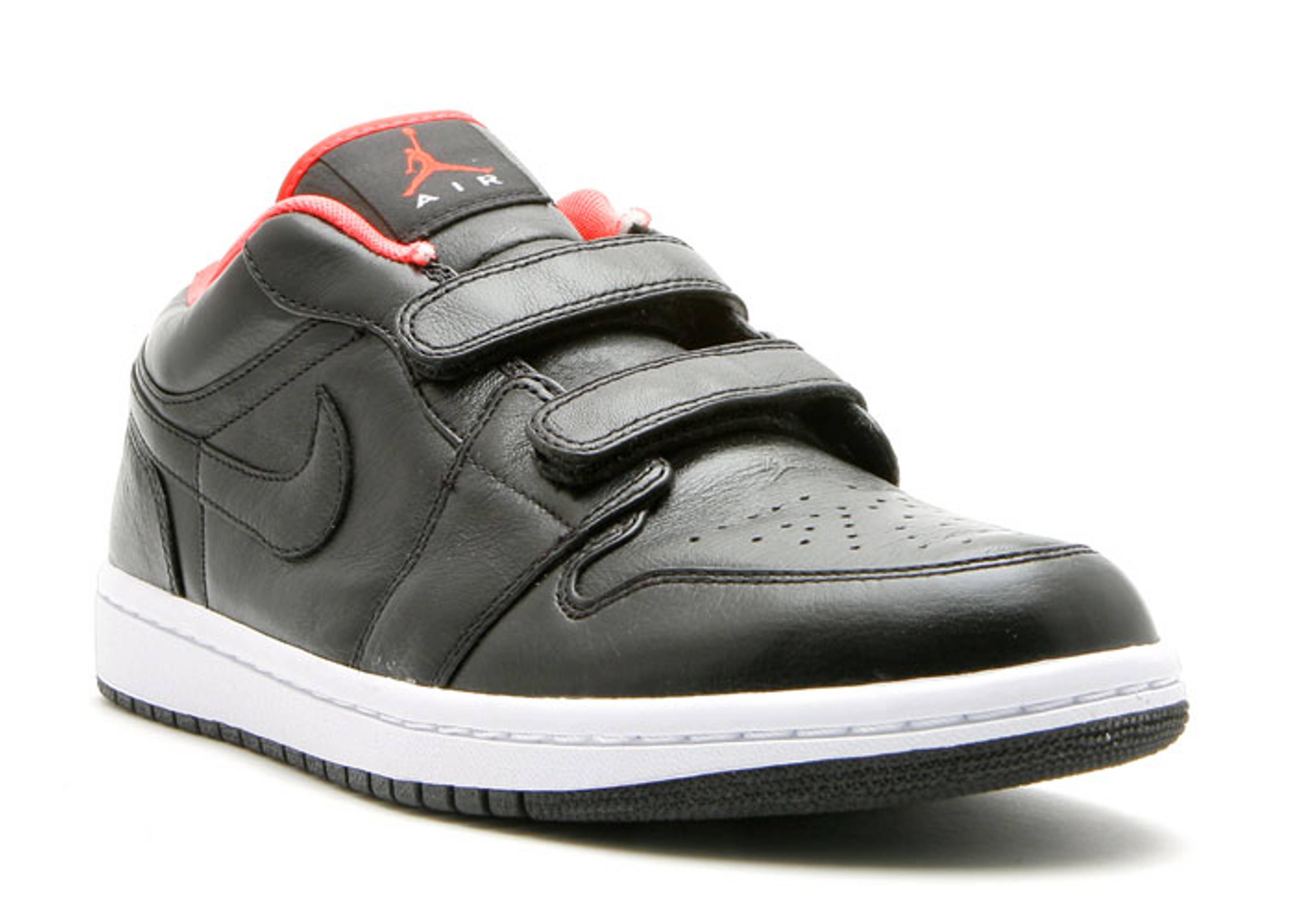 Air Jordan 1 Velcro Premr Low - Air Jordan - 344521 081 - black max orange   df71d56e983c