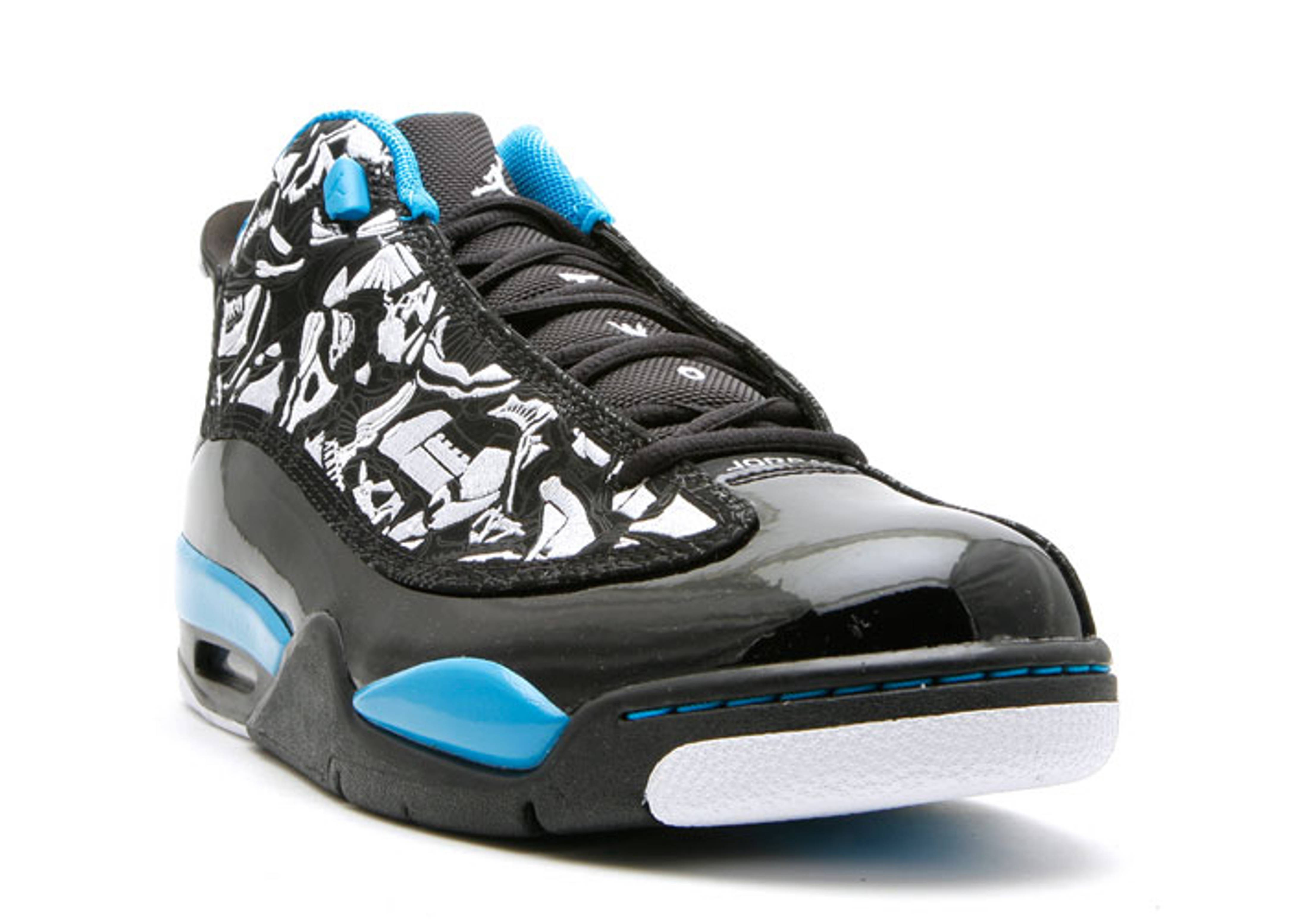 9e2ec9594aa4 Air Jordan Dub Zero - Air Jordan - 311046 011 - black white-laser blue