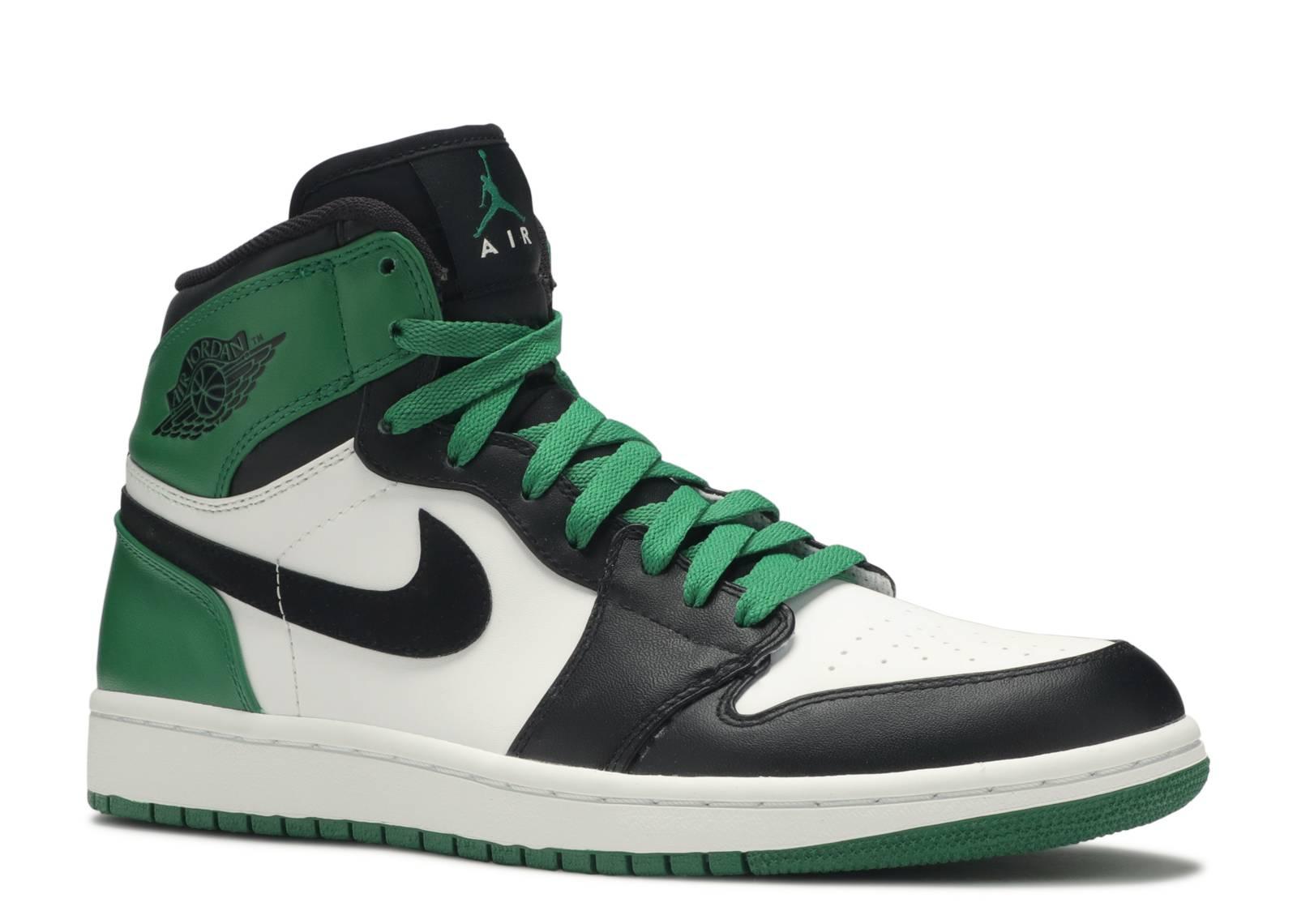 Jordan Shoe Black And Green