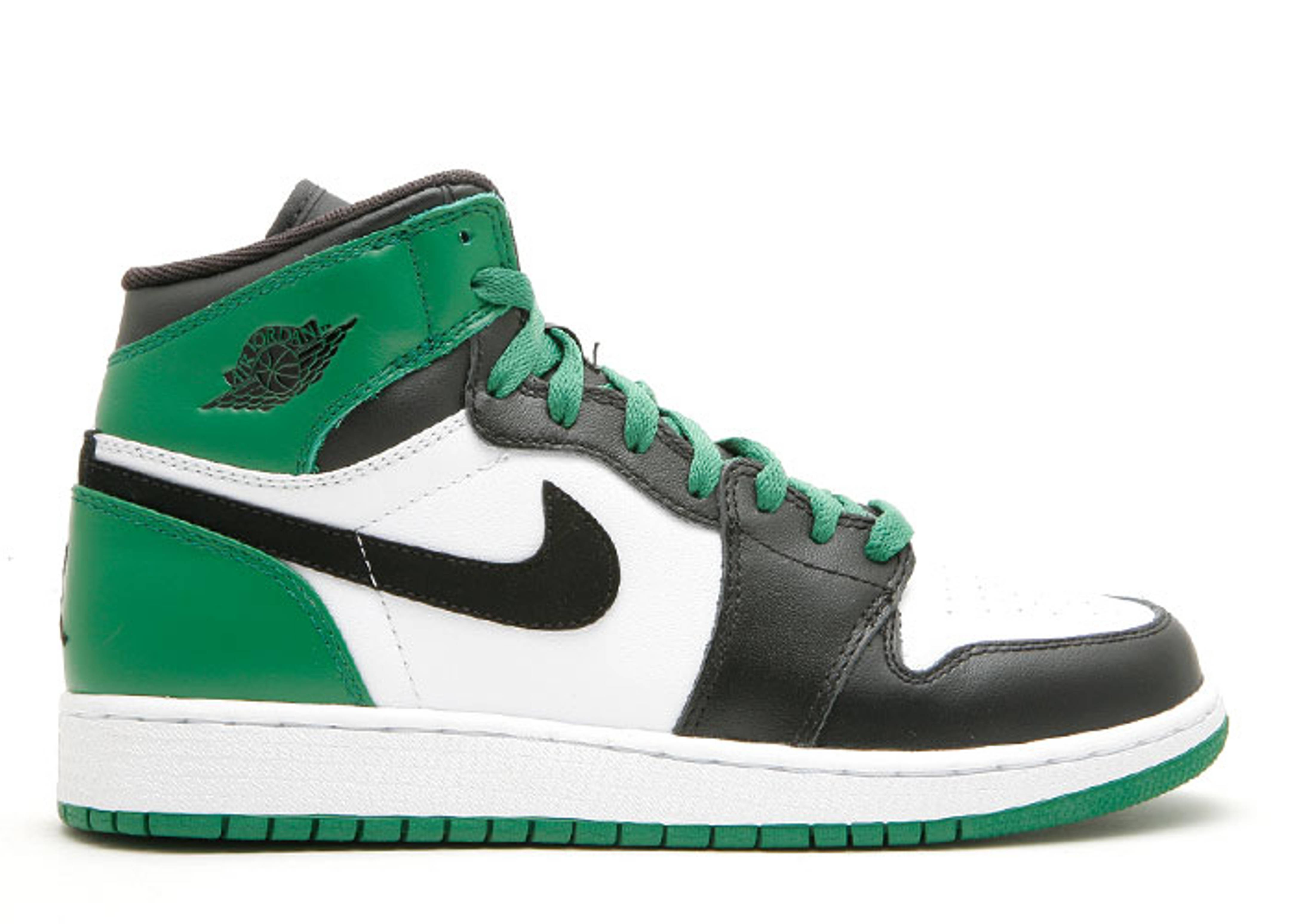 "air jordan 1 high retro (gs) ""boston celtics"""