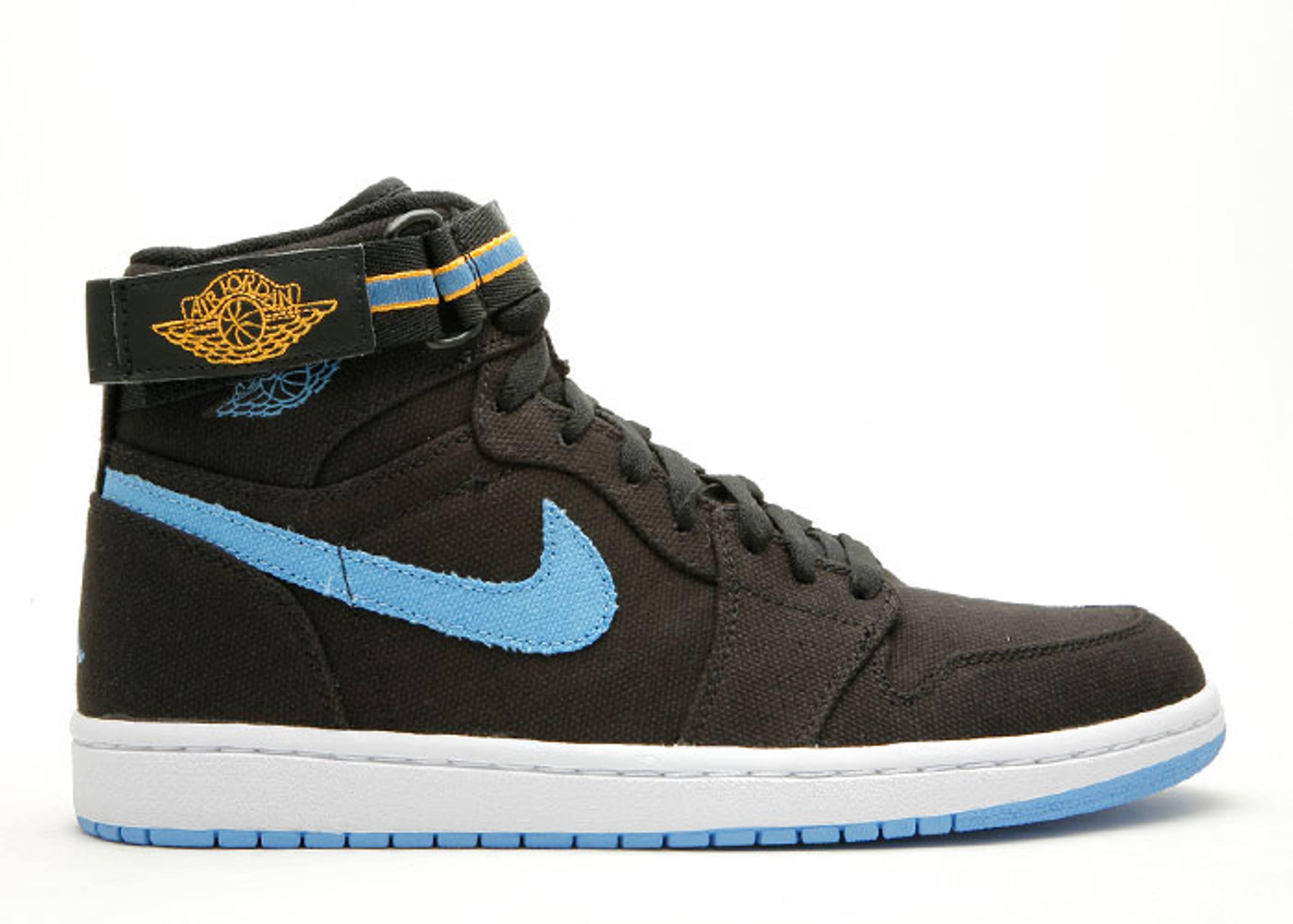 lowest price 06553 184a9 Air Jordan 1 High Strap - Air Jordan - 342132 041 - black ...