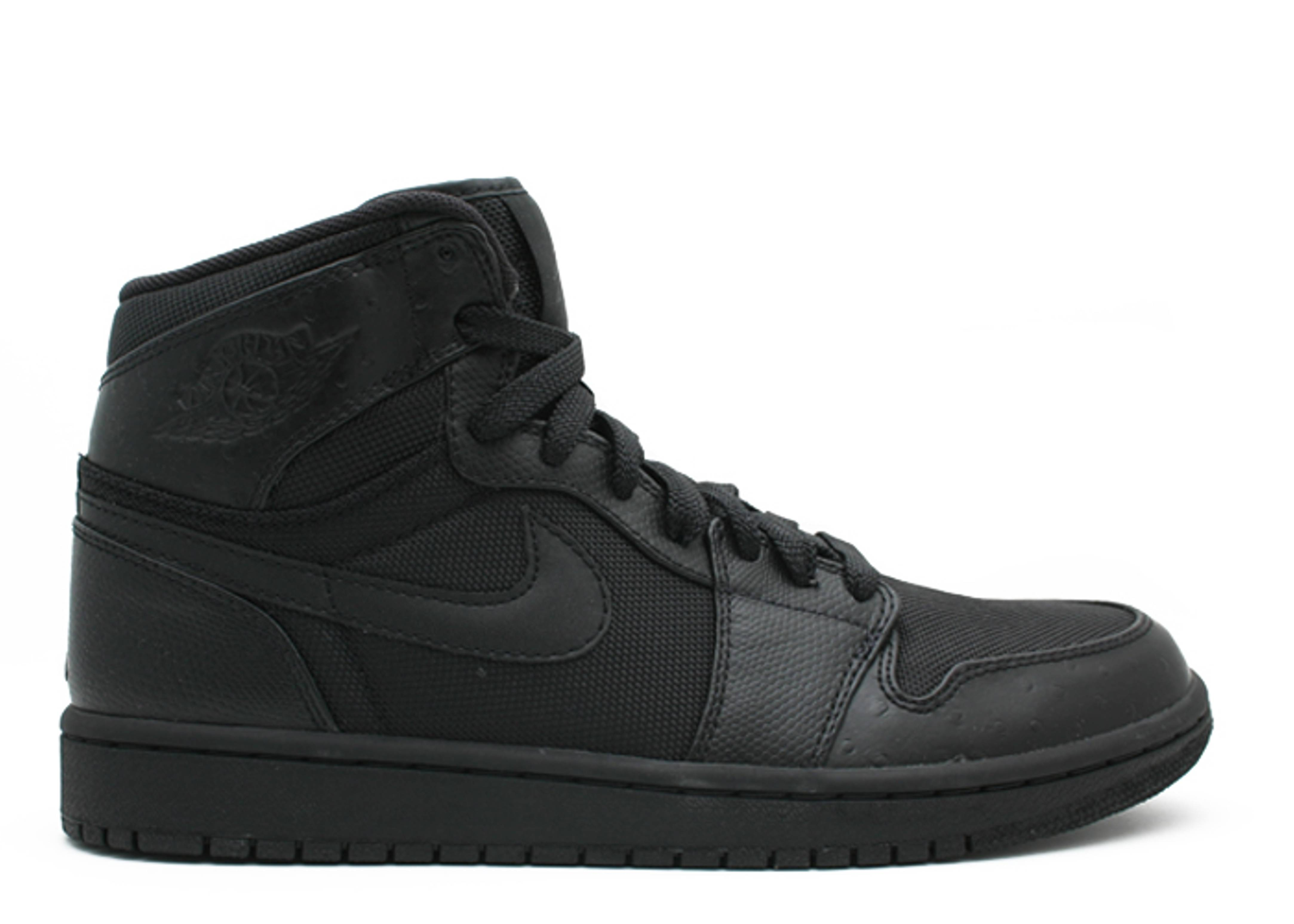 7ff8d1f057e Air Jordan 1 Retro High - Air Jordan - 332550 002 - black black ...