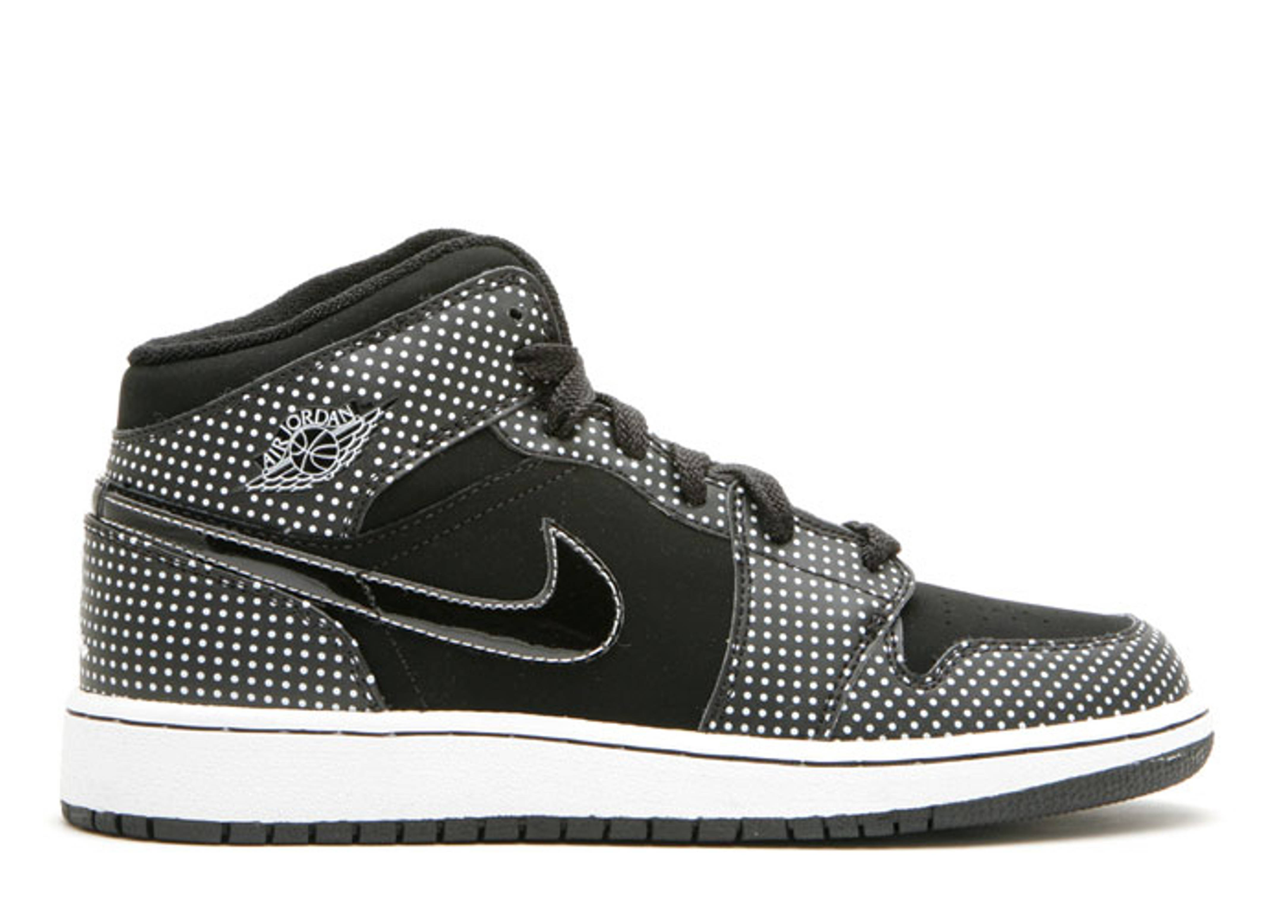 Air Jordan 1 (gs) - Jordan - 327048 013 - black white  da3b2f1673b9