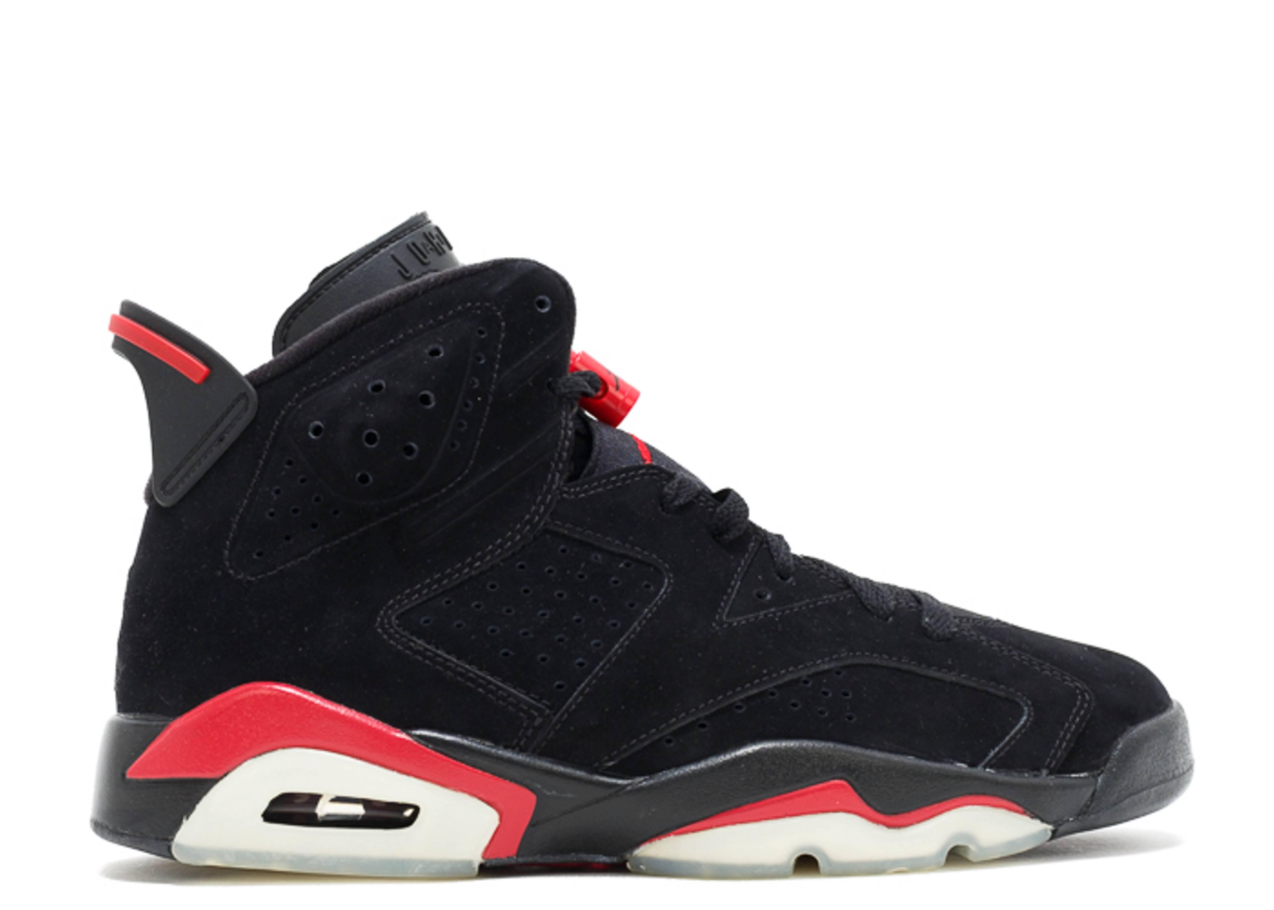 sale retailer e551c 7ec36 Air Jordan 6 Retro - Air Jordan - 384664 061 - black varsity red   Flight  Club