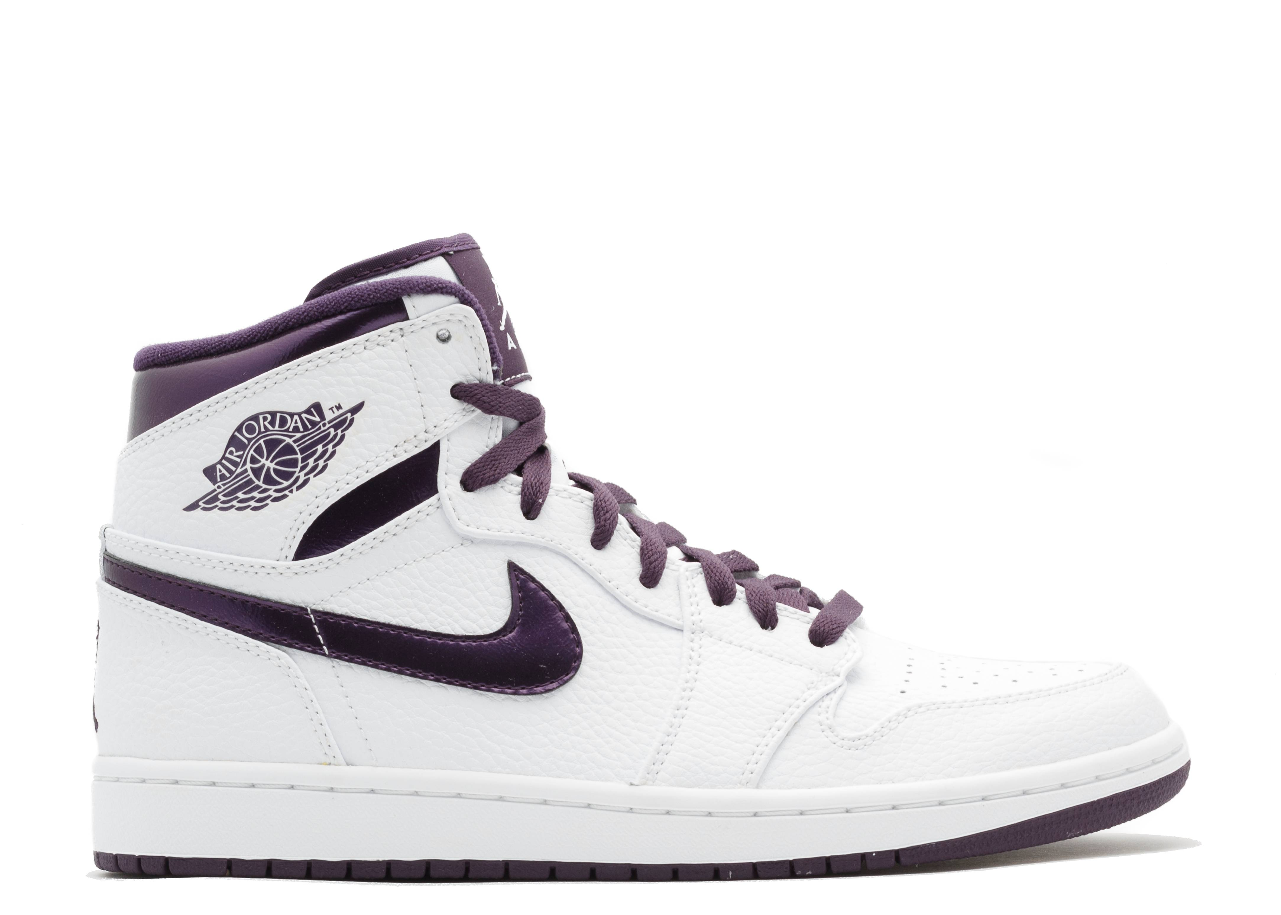 air jordans white and purple