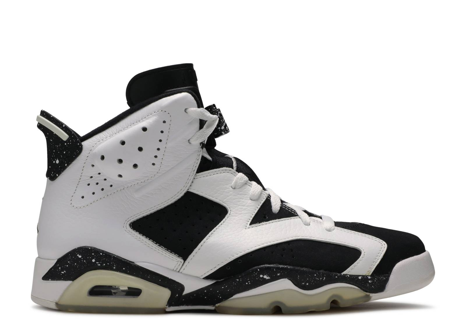 37ef45b79a2 ... usa air jordan 6 retro oreo air jordan 384664 101 white black flight  club b78b7 e1b25