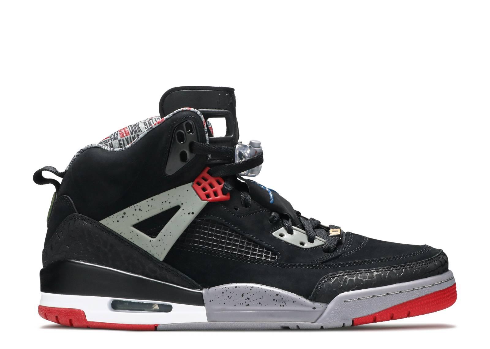 Original Nike Air Jordan Spizike Black Red Cement Size 12