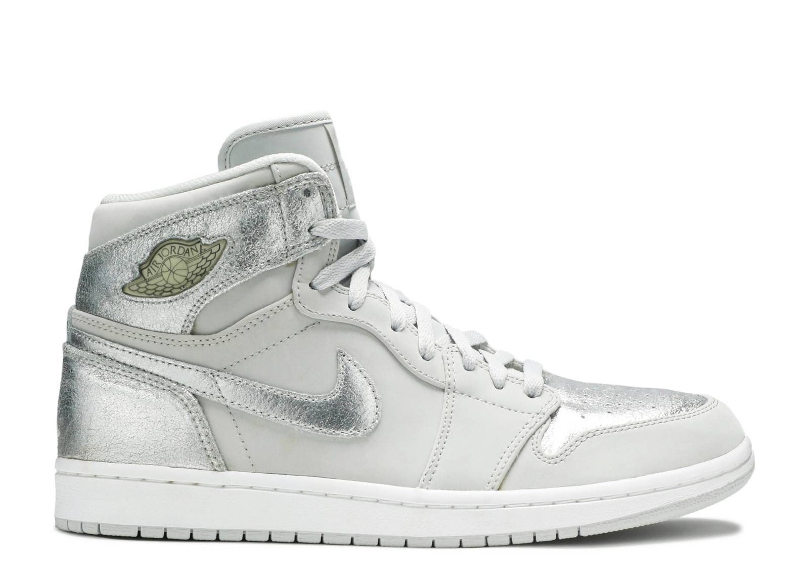 reputable site 0f3f2 63080 air jordan 1 retro hi silver