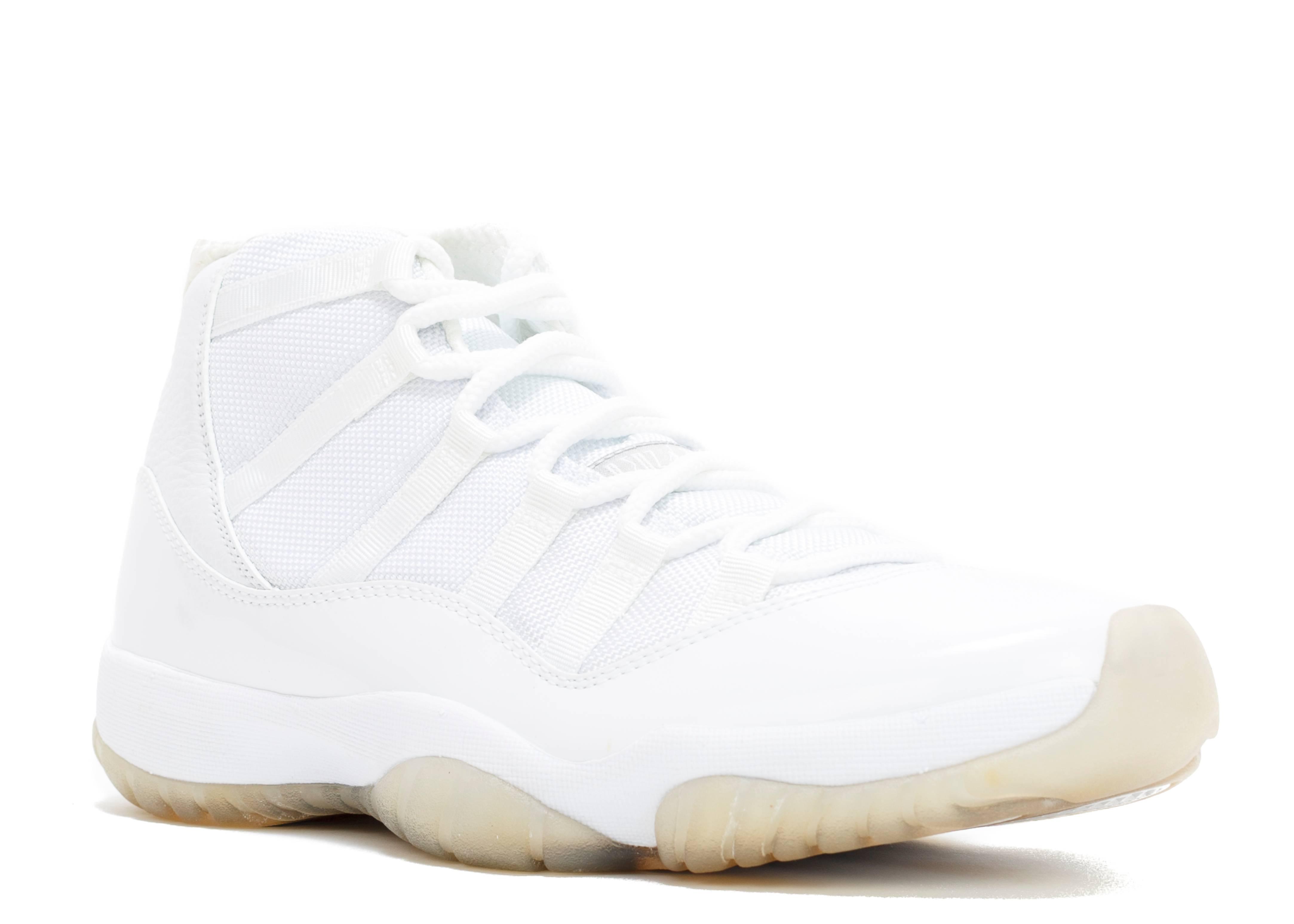 Air Jordan All White 11