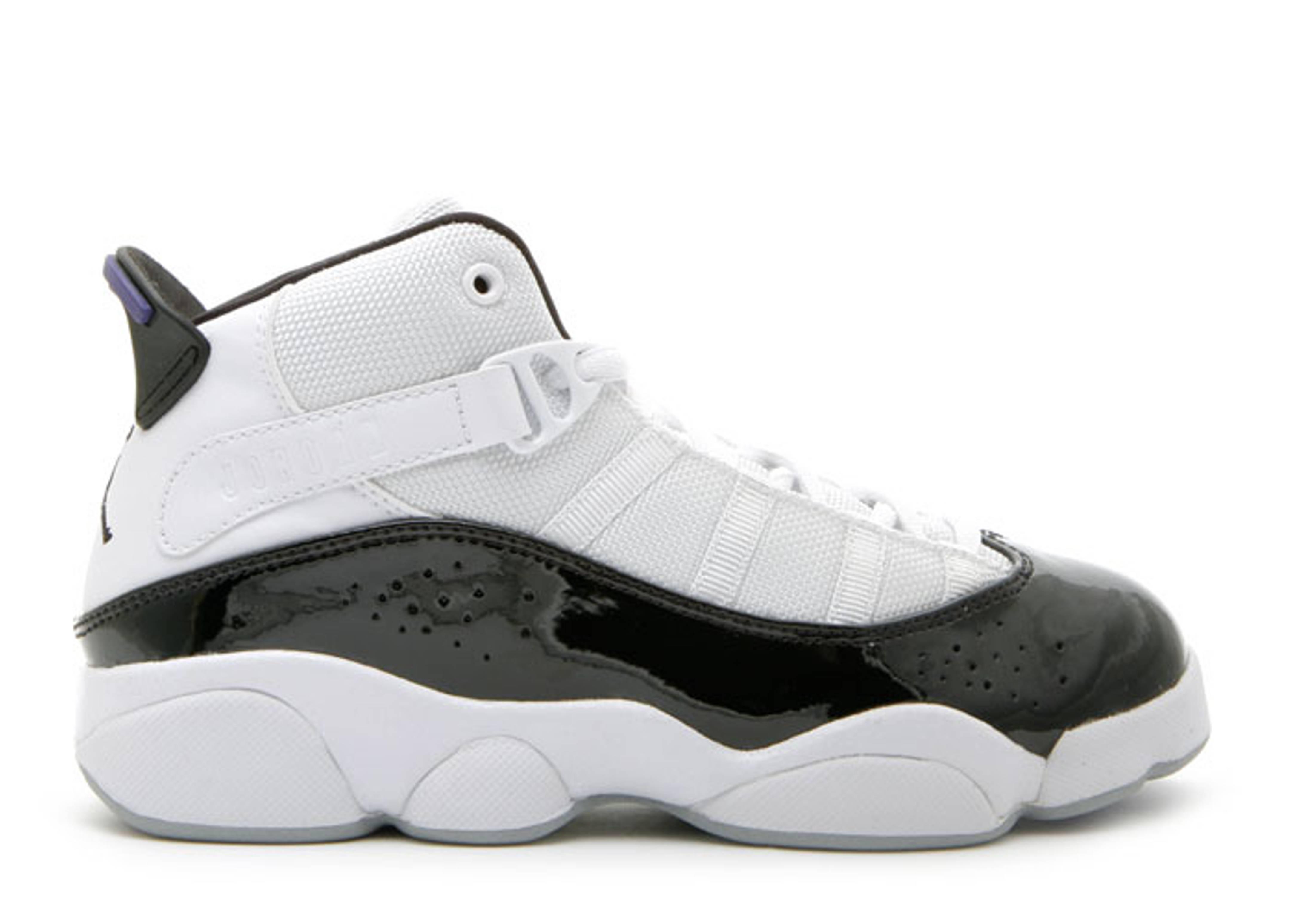 632c85be237aa9 Jordan 6 Rings (ps) - Air Jordan - 323432 152 - white dark concord ...