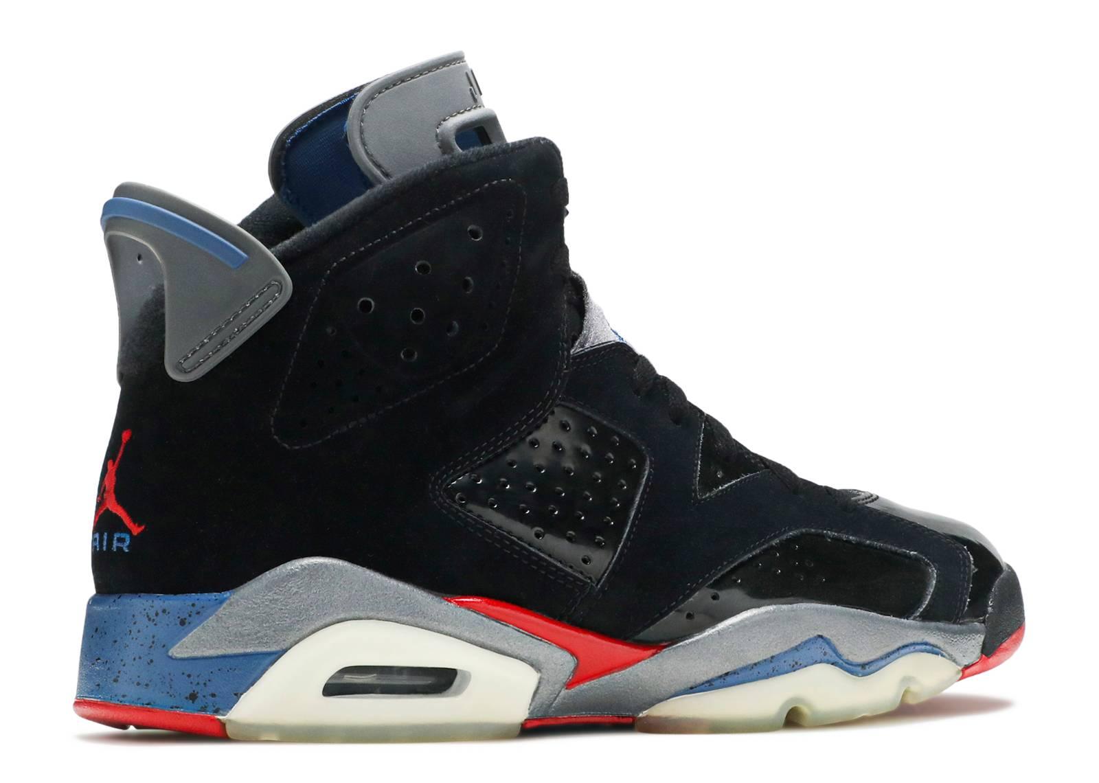 a7e7b79d215 netherlands air jordan retro 6 black red blue 8a78c f984c