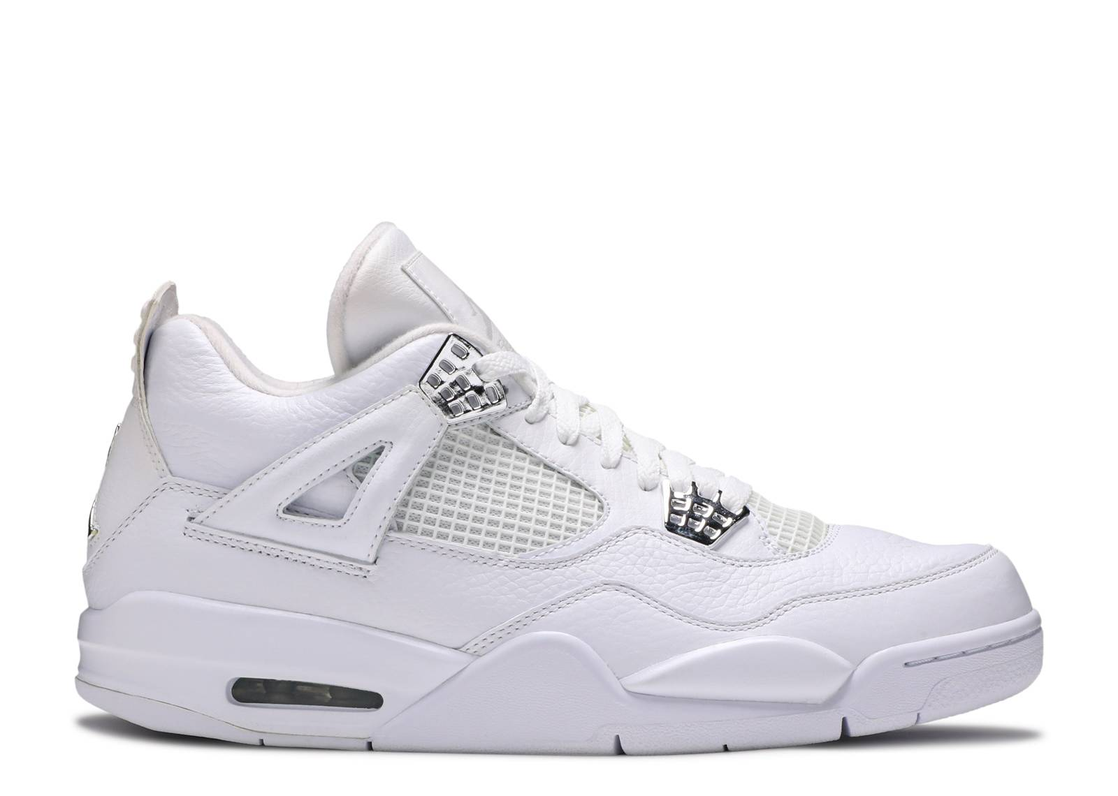 Review: Air Jordan 4 - Silver 25th Anniversary (White / Metallic ...