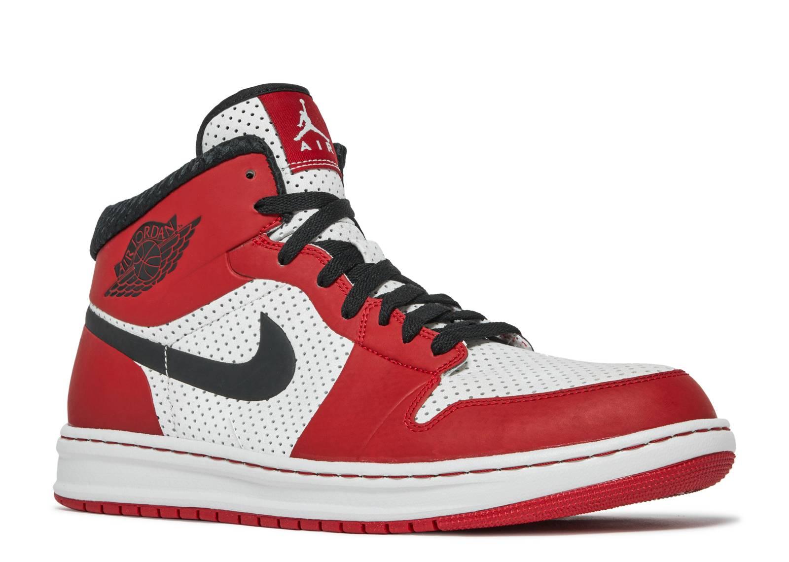 Air Jordan 1 Alpha - Air Jordan - 392813 101 - white black-varsity red  e46b986b7