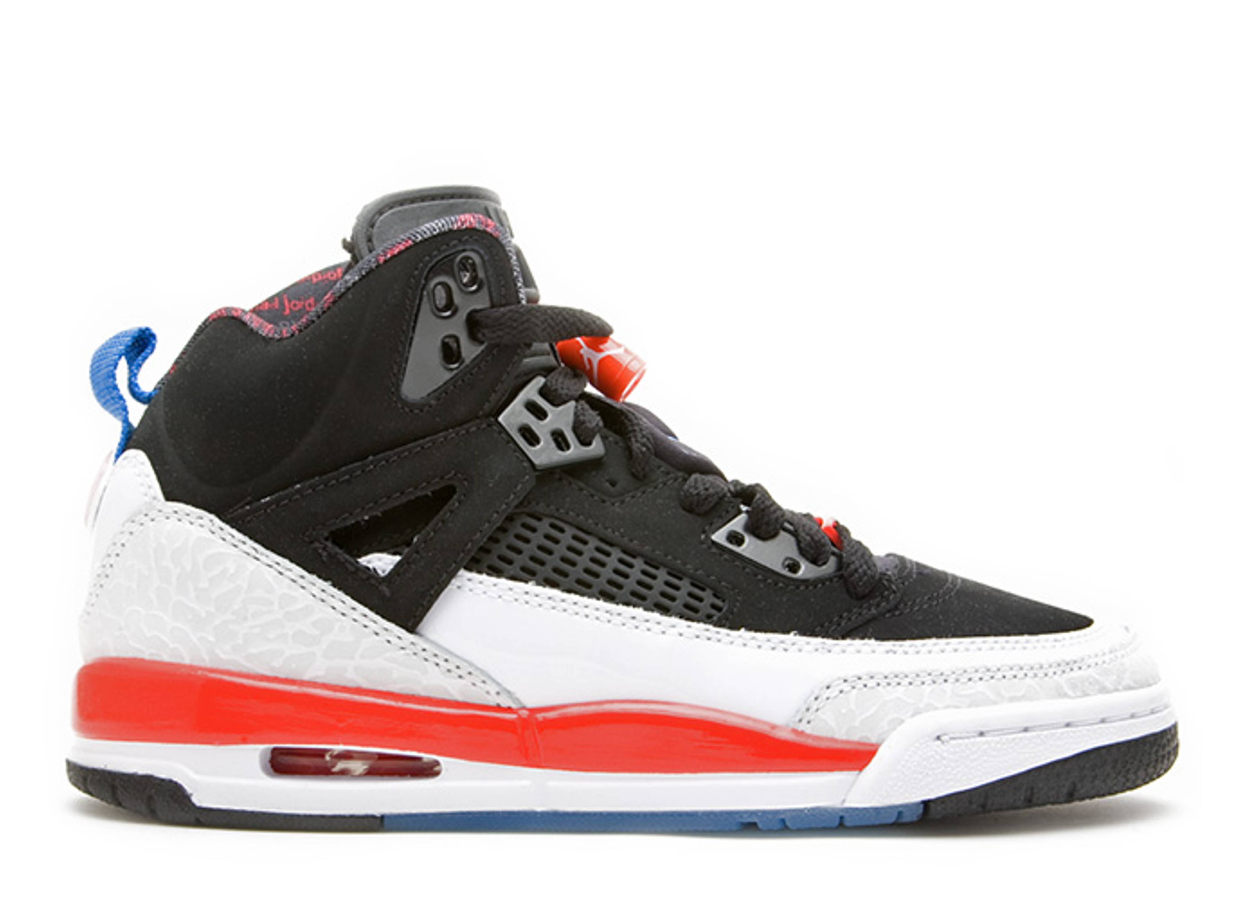 Sz 8 Nike Air Jordan Spizike Black New Blue White Infared