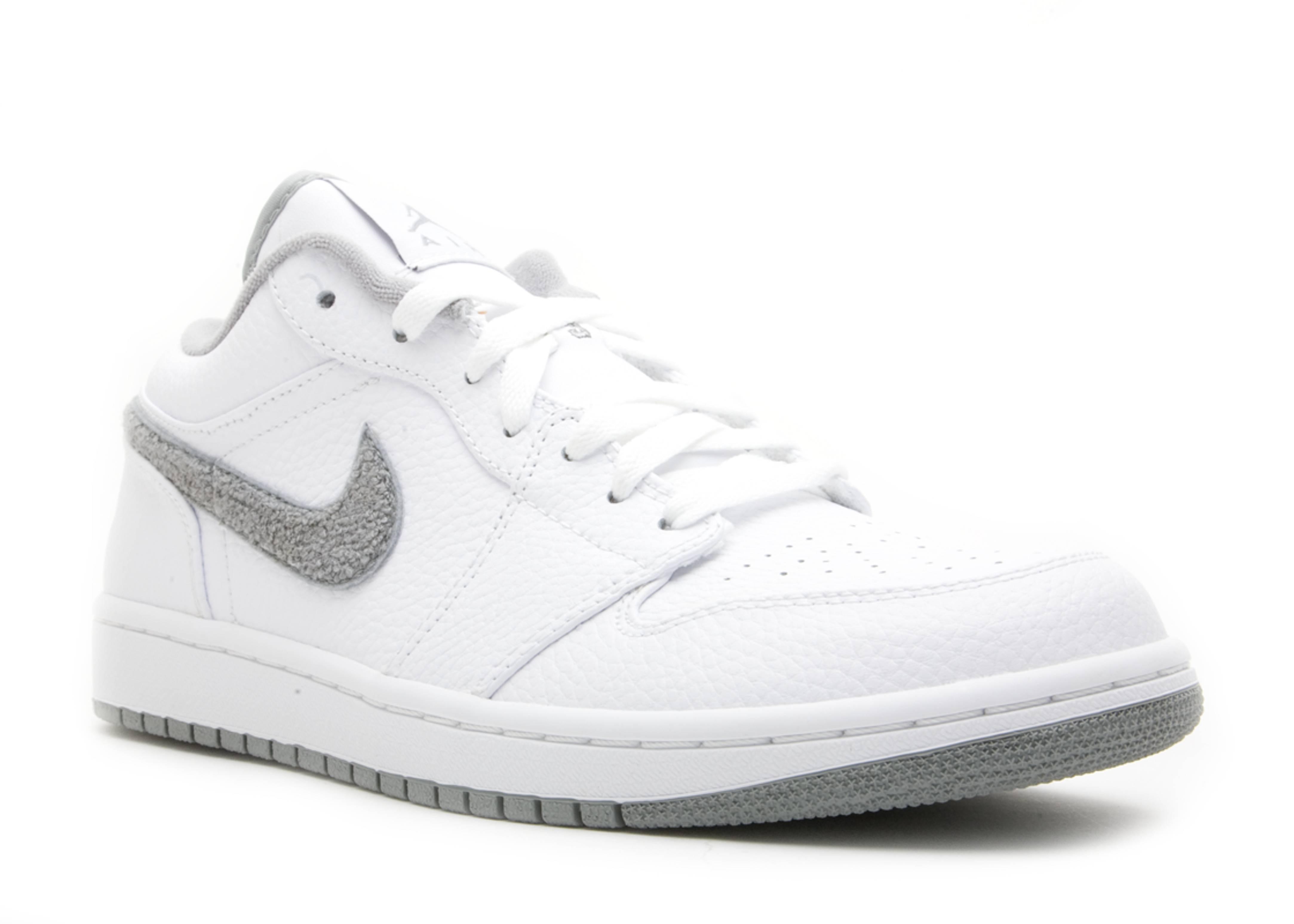 c2d754aa237 Air Jordan 1 Phat Low - Air Jordan - 338145 103 - white/shadow grey ...