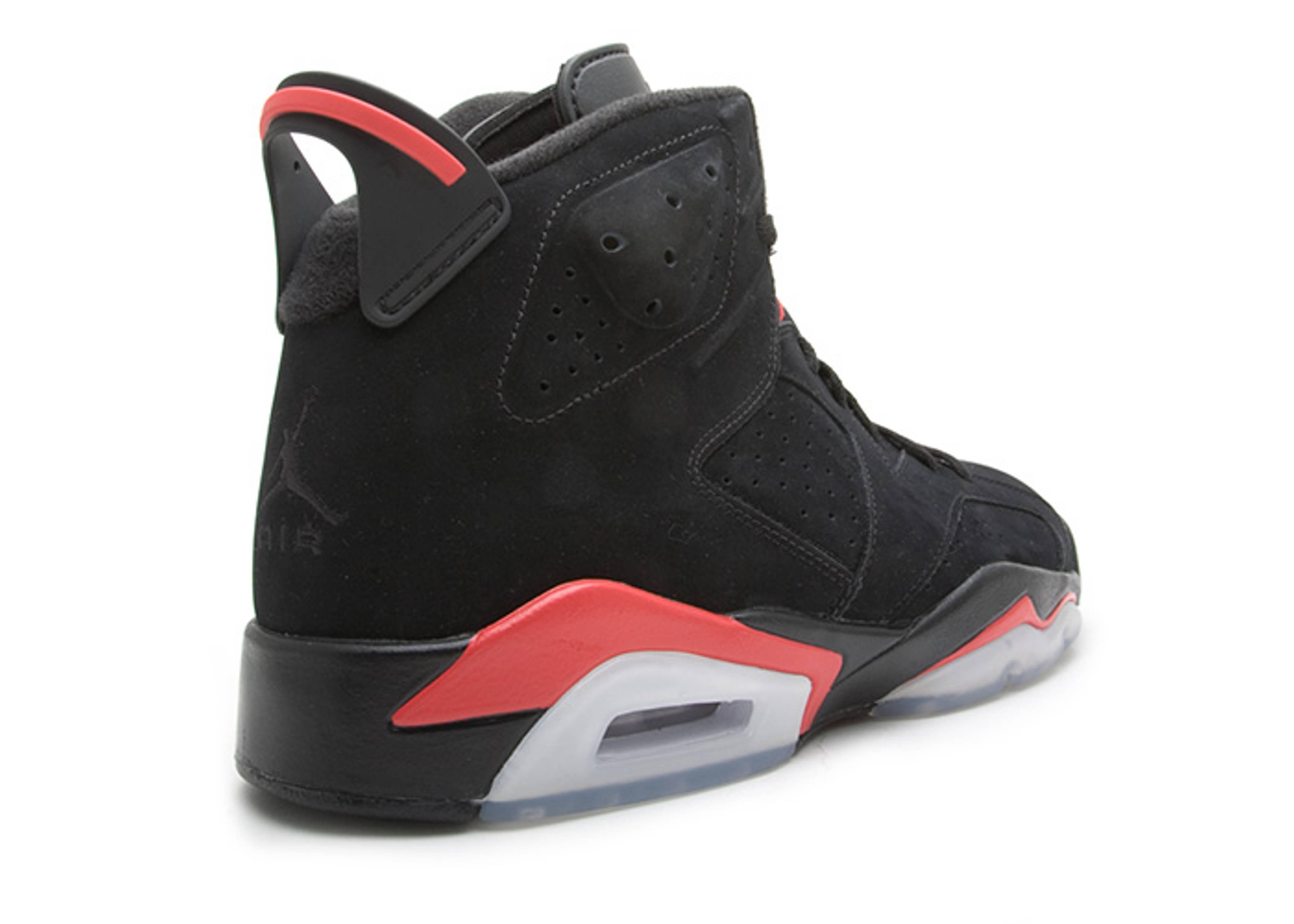 "onitsuka tiger blanc - air jordan 6 retro ""infrared pack"" - black/infrared - Air Jordans ..."
