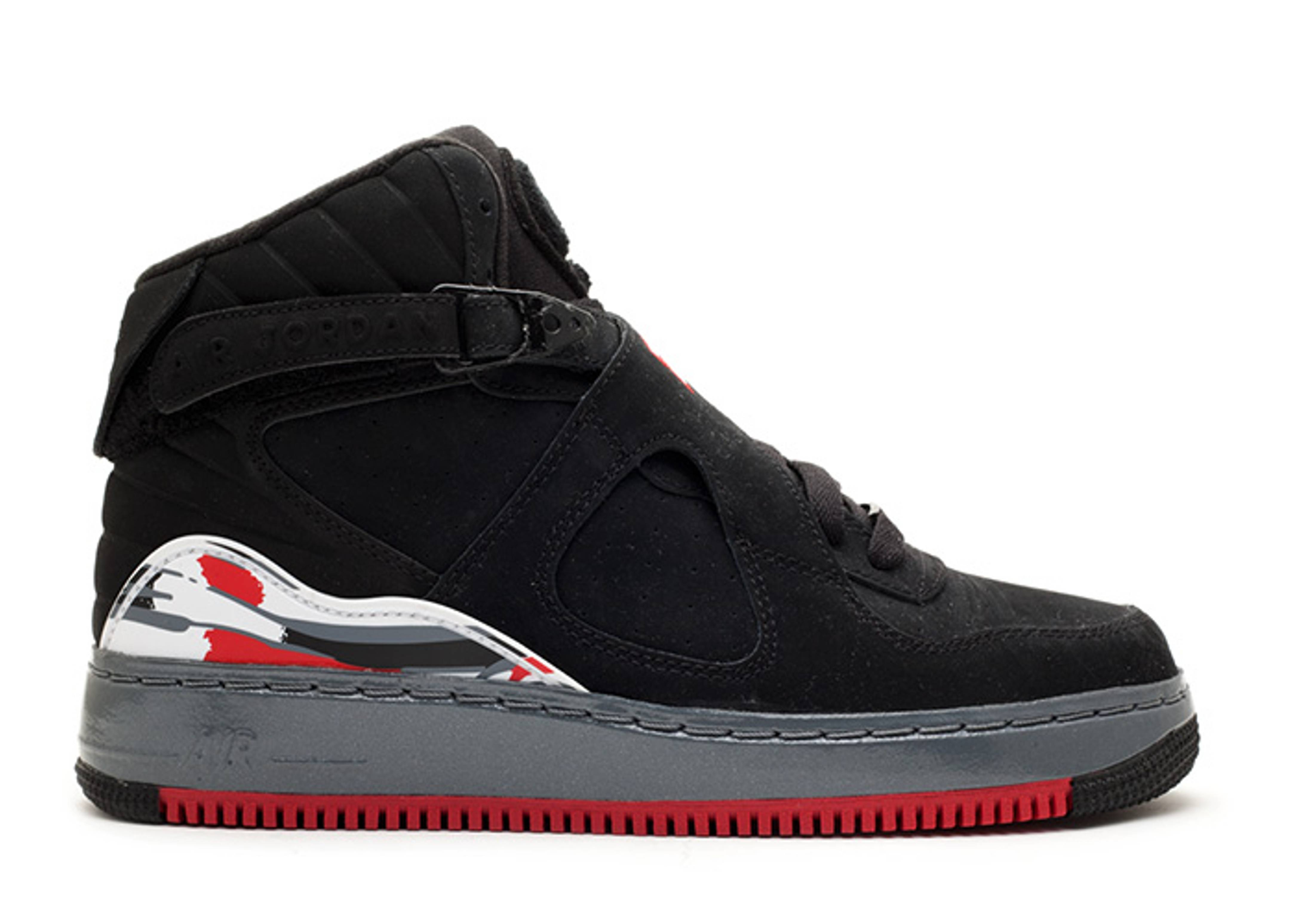 Ajf 8 - Air Jordan - 384522 001 - black varsity red-flint grey ... 4bf74064c