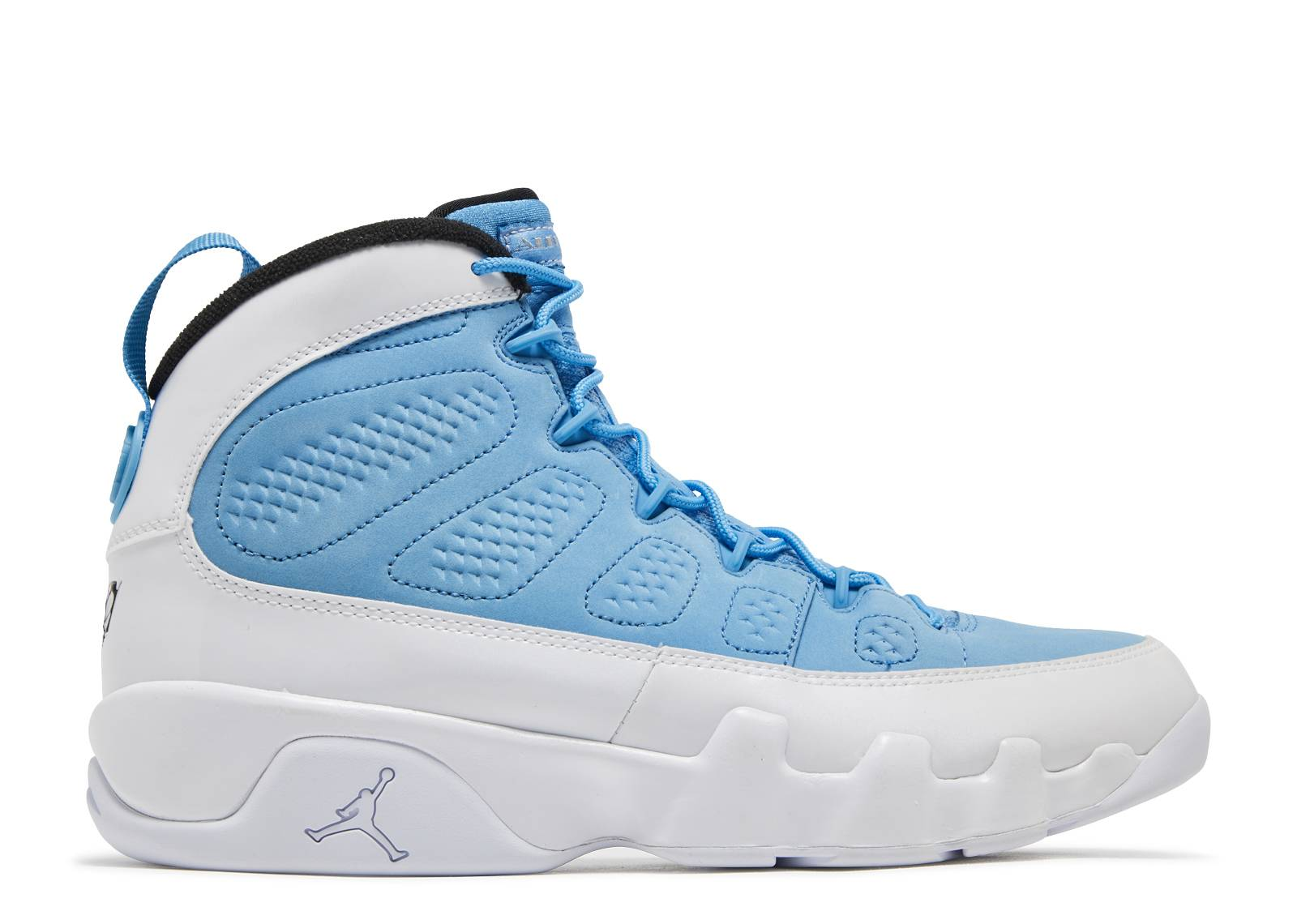 air jordan 9 carolina blue