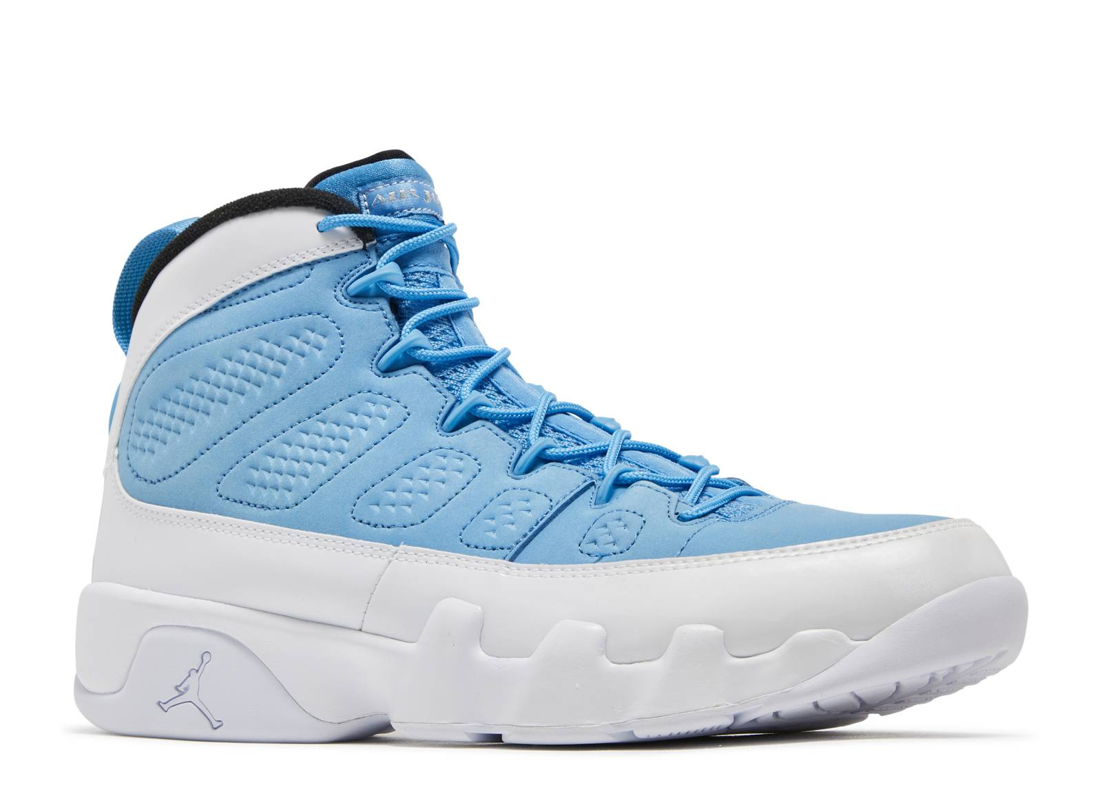 63d434d94ffb ... air jordan 9 retro for the love of the game  air jordan ix white university  blue ...