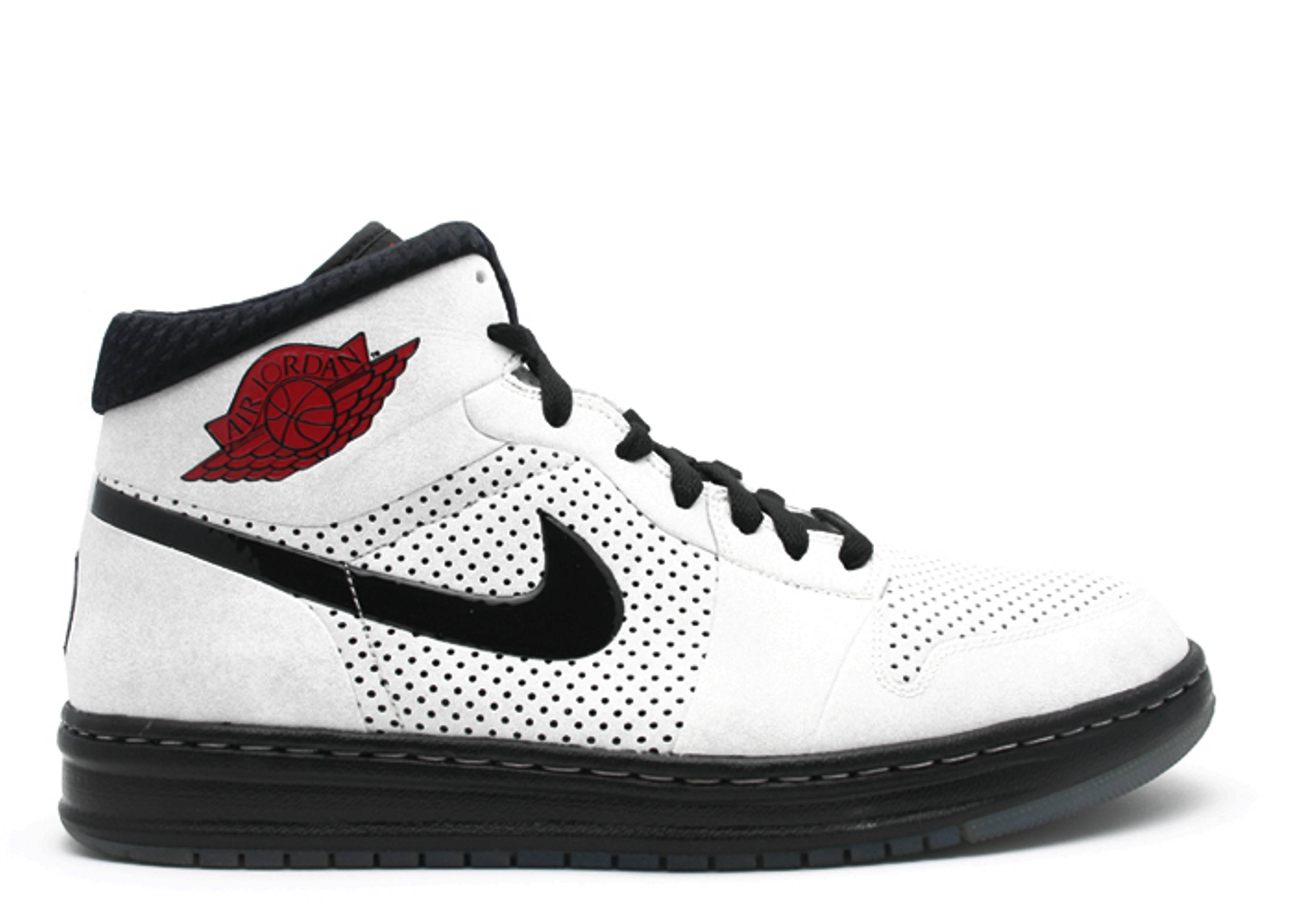 outlet store 314e7 7de6d Air Jordan Alpha 1 - Air Jordan - 392813 104 - white black varsity red    Flight Club