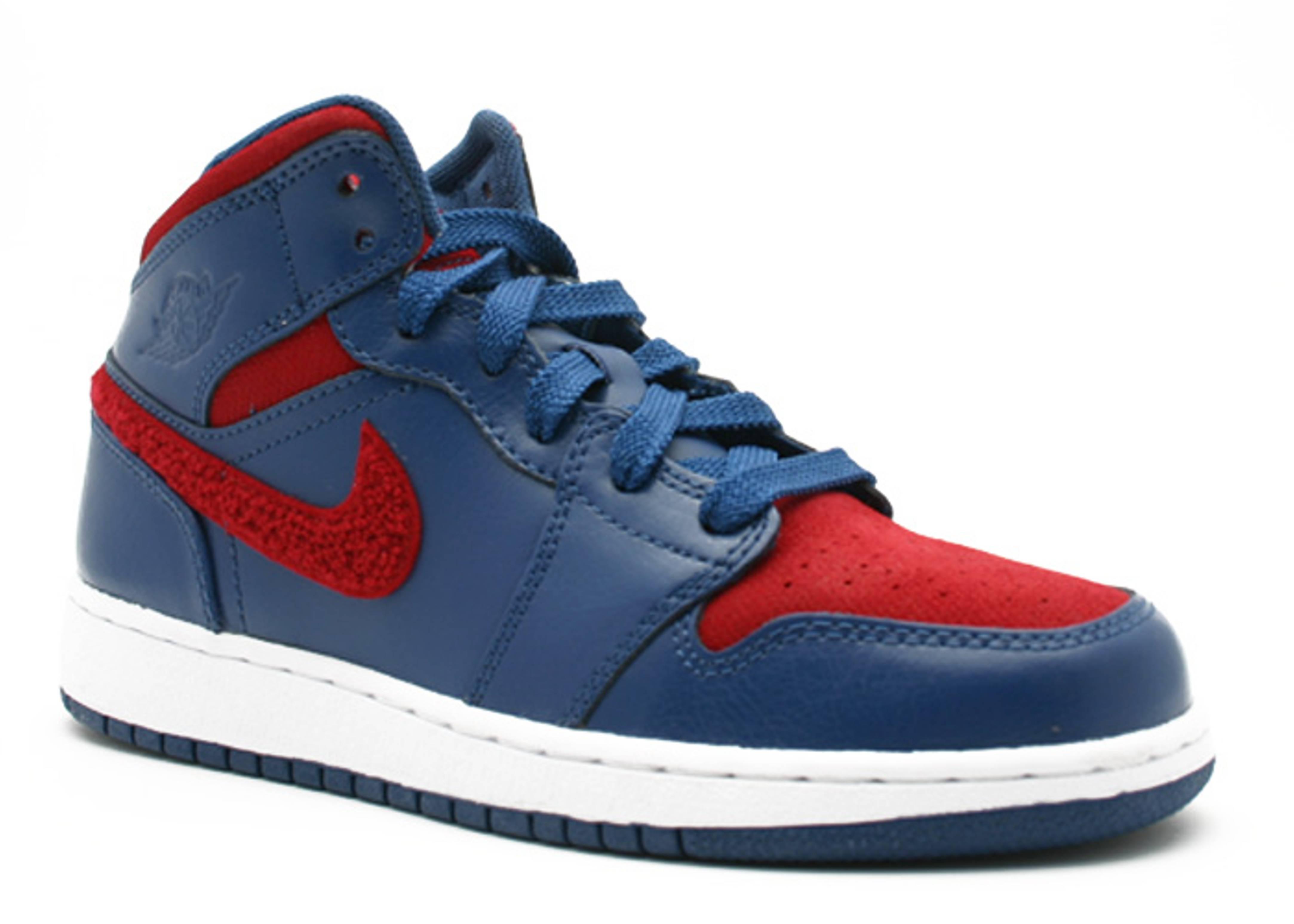 95ad951dd440 Aj 1 Retro Phat Premier (gs) - Jordan - 375174 461 - french blue varisty  red white