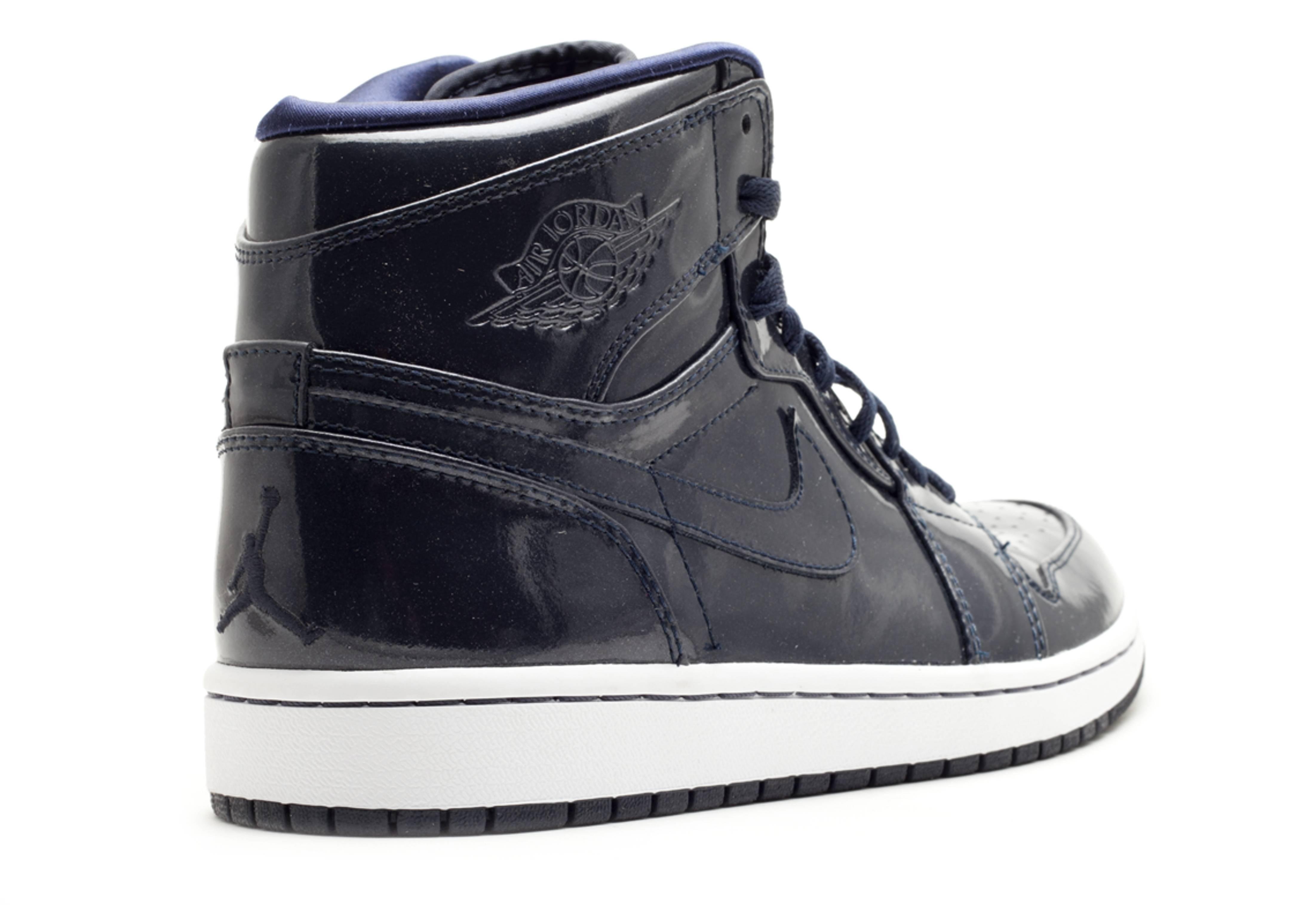 brand new da5a9 e46f5 Air Jordan 1 Retro High - Air Jordan - 332550 441 - dark obisidian drk  obsidian-wht   Flight Club