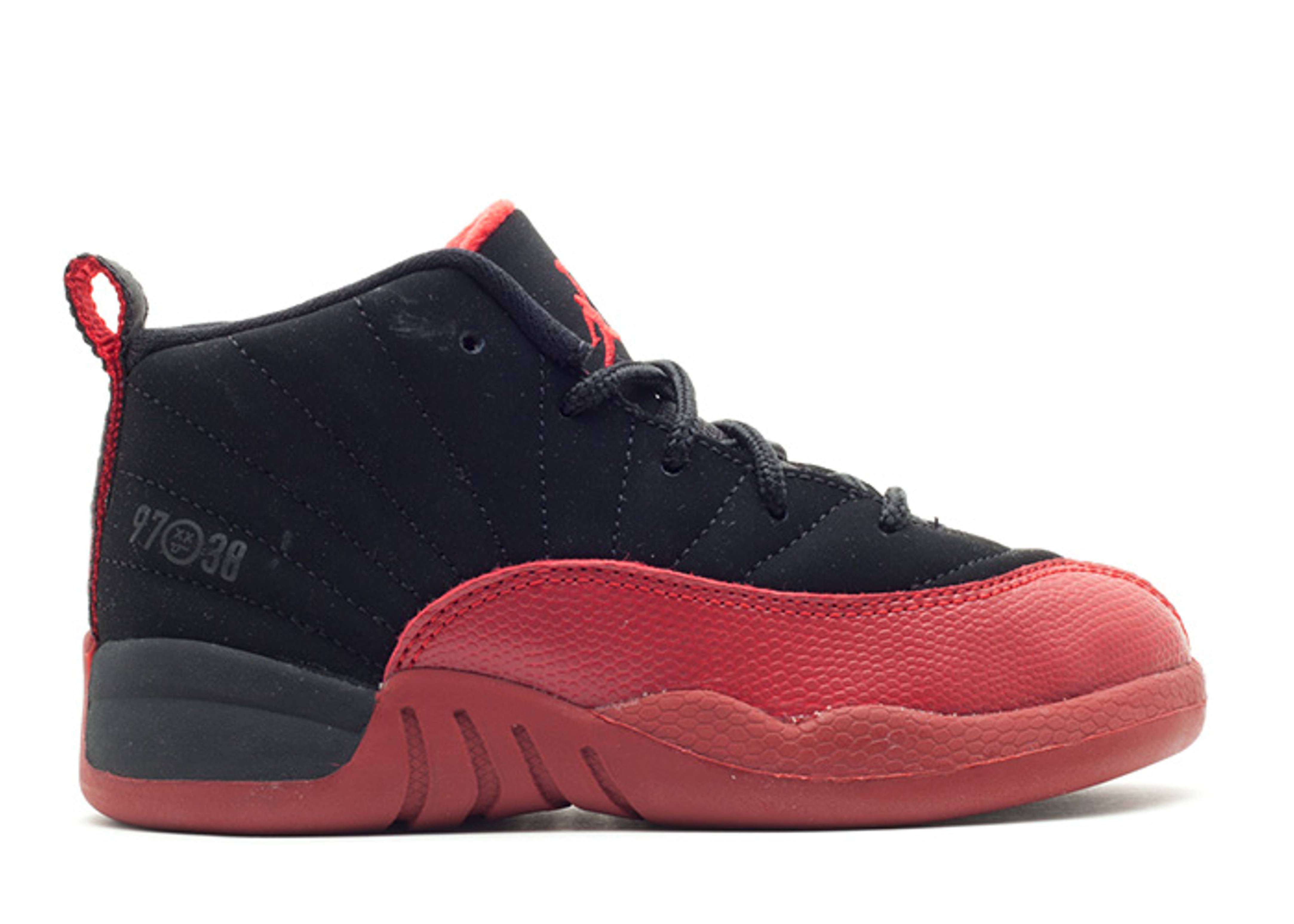 "jordan 12 retro (td) ""flu game"""