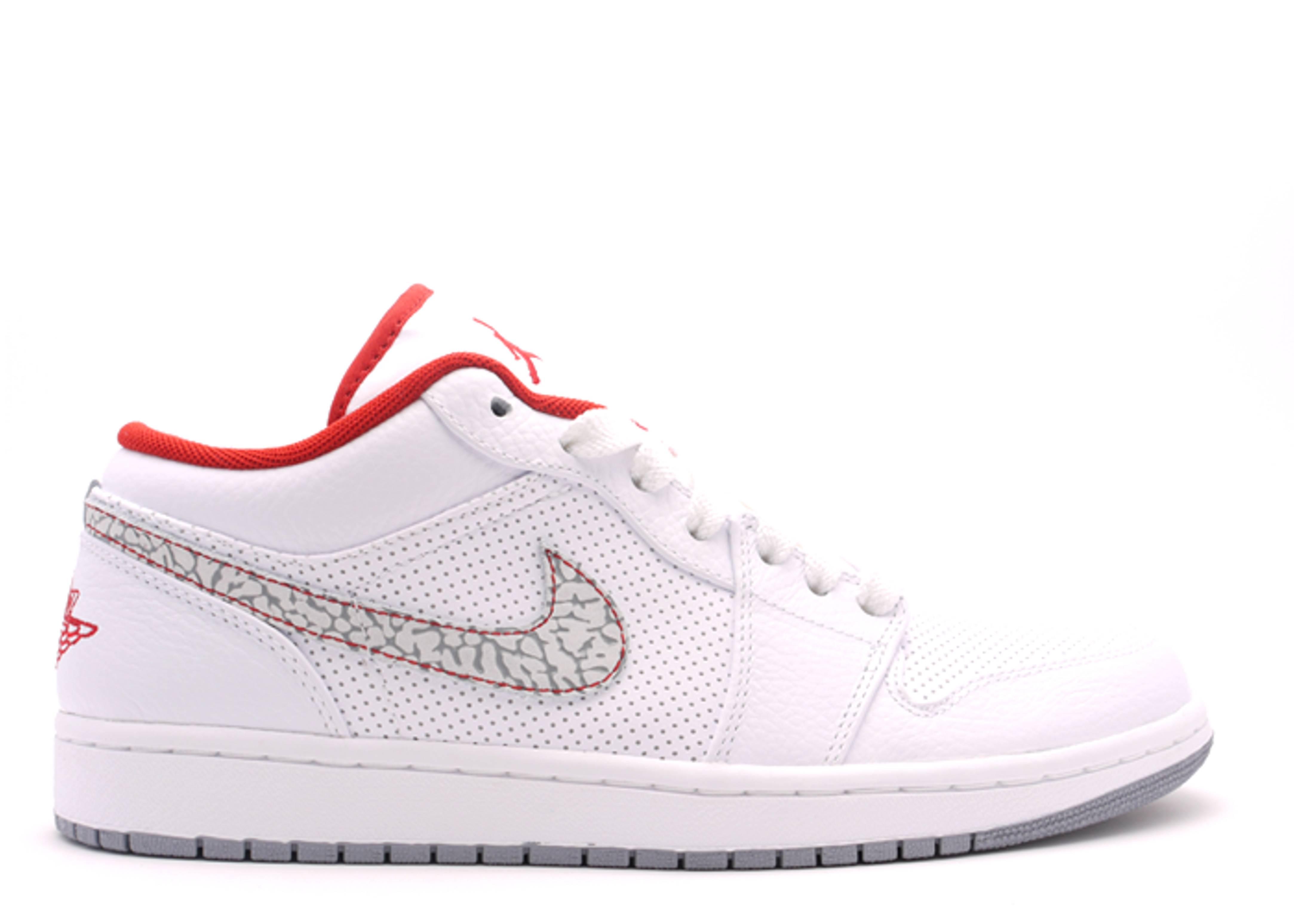 Air Jordan 1 Phat Low - Air Jordan - 338145 113 - white varsity red ... a371c54b71