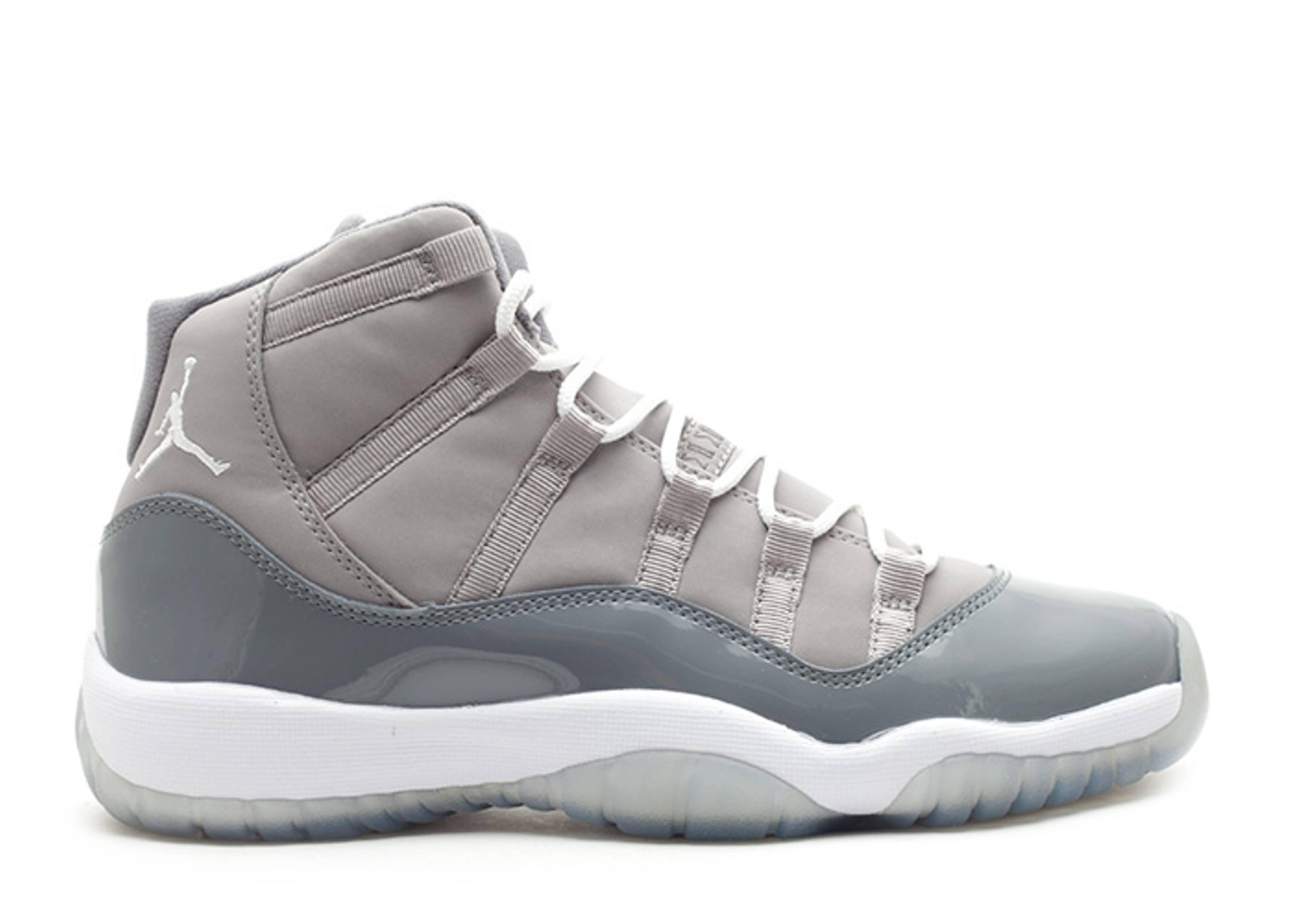 "air jordan 11 retro (gs) ""cool grey 2010"""